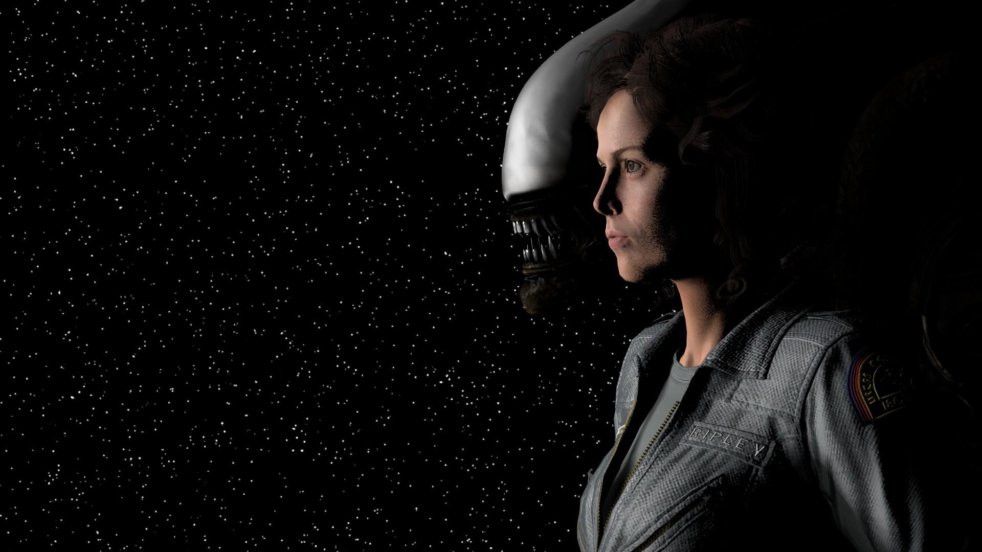 General women actress movies space Alien (movie) Sigourney Weaver  Ellen Ripley astronaut stars