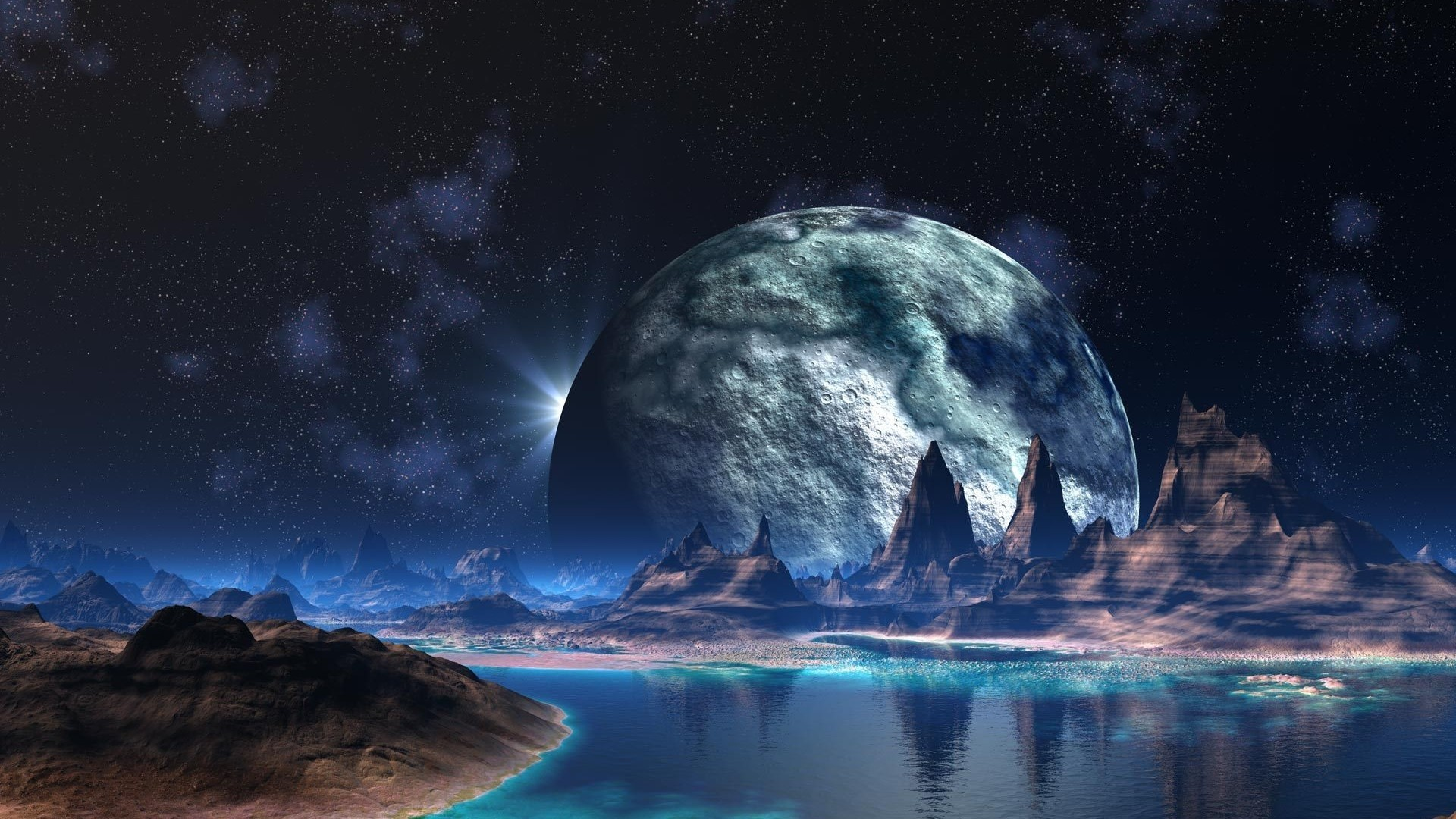 Alien World 3D Wallpaper – HQ Free Wallpapers download 100% high .