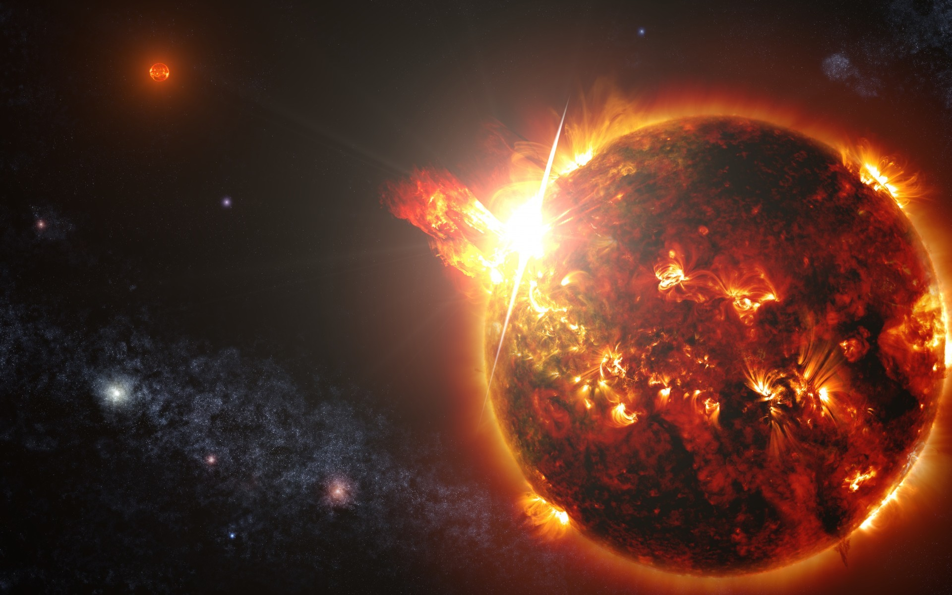 Space / Dwarf star Wallpaper