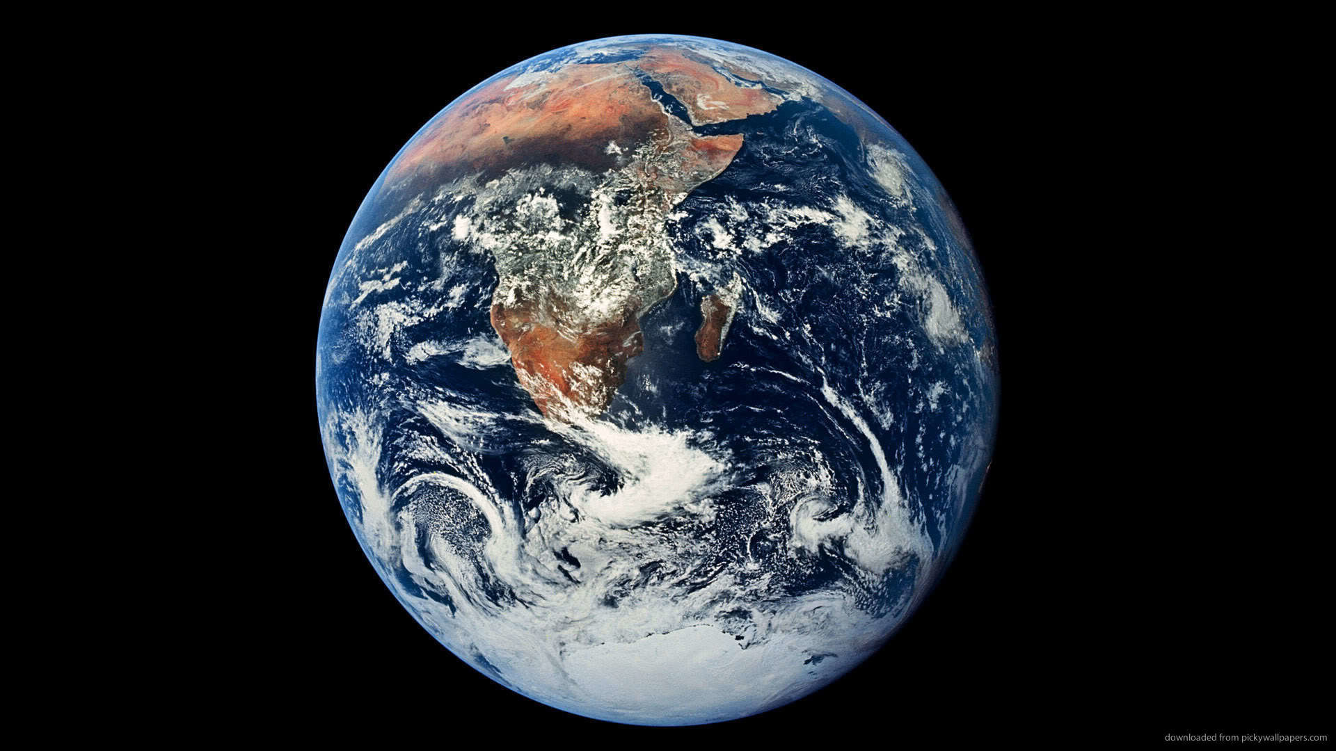 The Earth picture