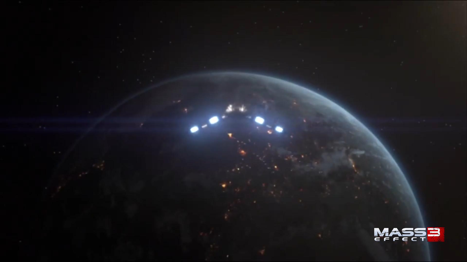 Mass Effect 3 Earth
