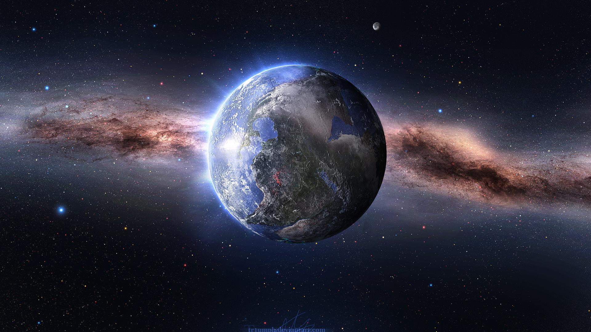 Space Nebula HD Desktop Wallpaper | WallpaperCow.com