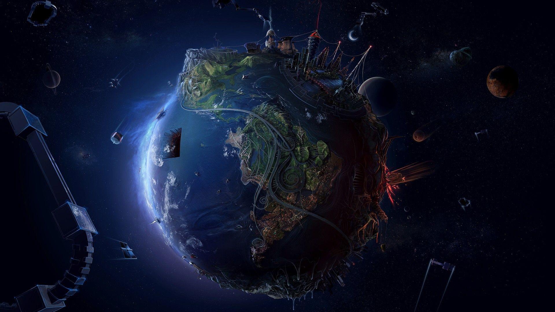 Space Galaxy Desktop Wallpapers