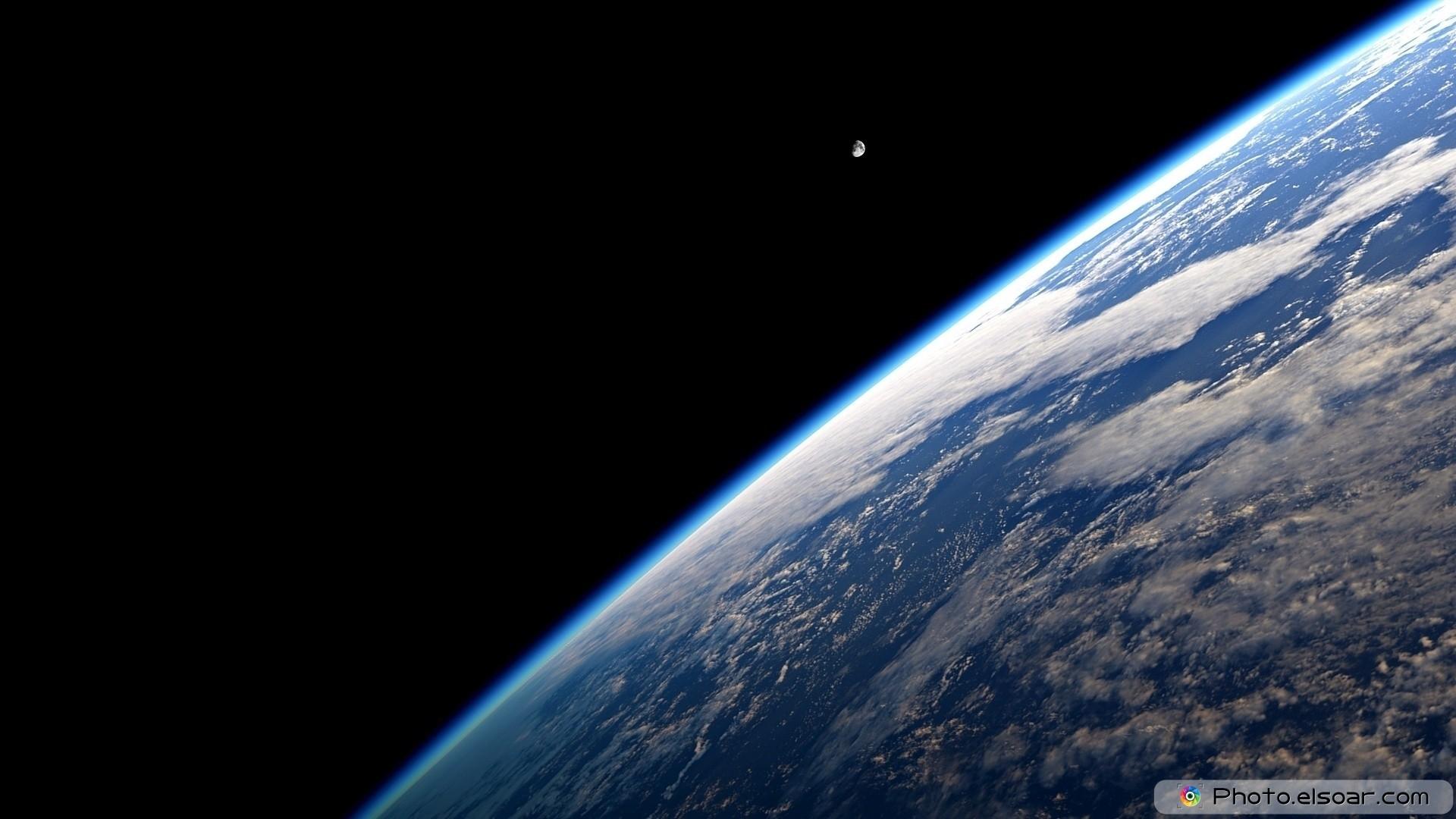 Space At Night Free HD Desktop Wallpaper