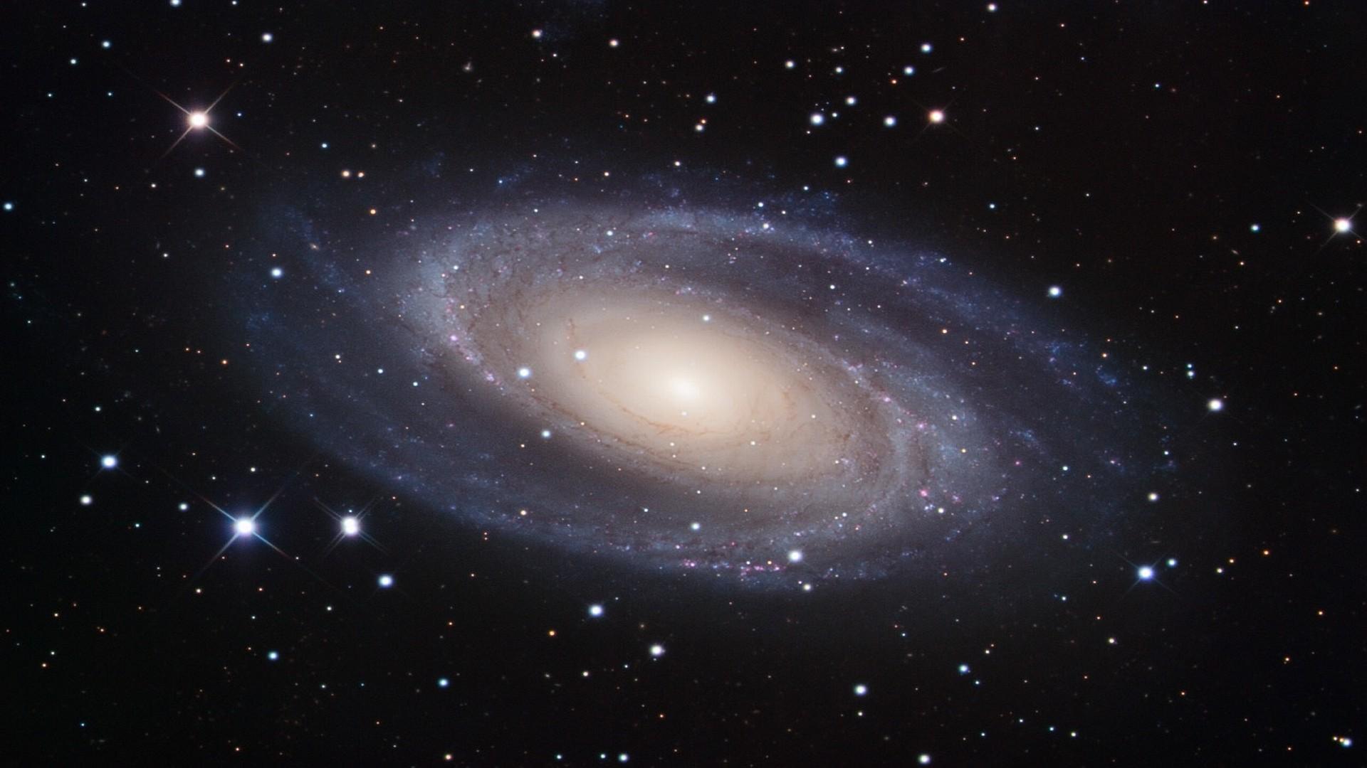 Space Wallpaper HD Spiral Galaxy-M81 Crab Nebula