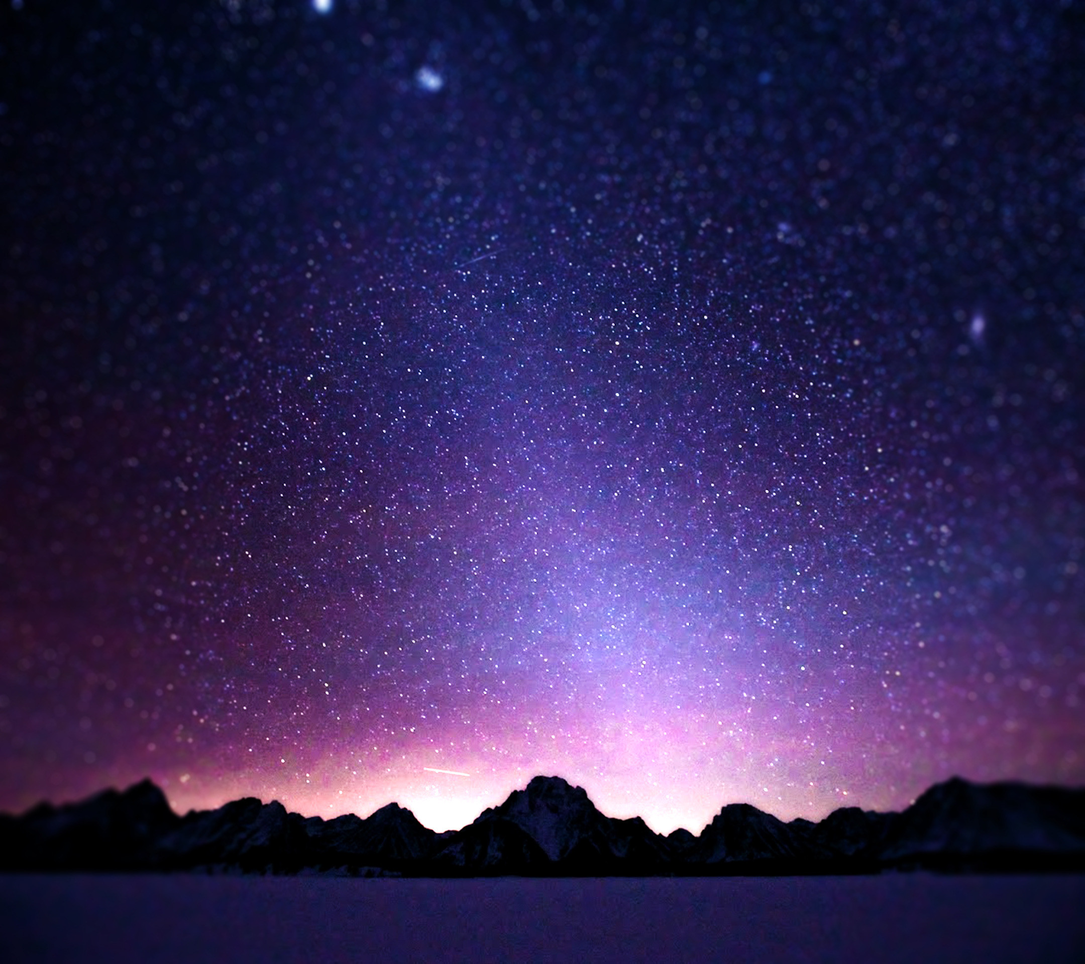 Starry, Night, Nature, Wide, High, Definition, Wallpaper, Download .
