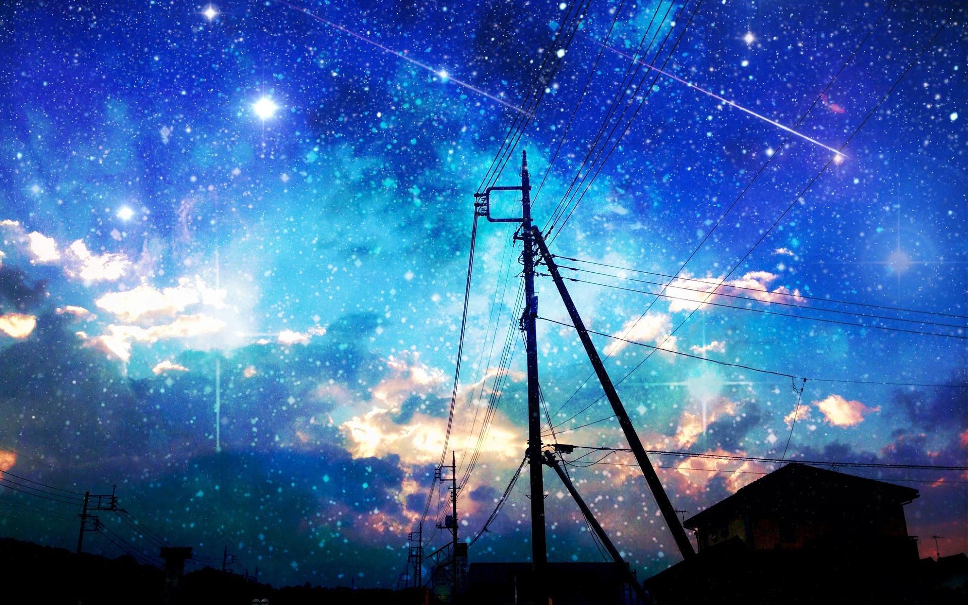Starry Night Sky Wallpapers WallpaperPulse