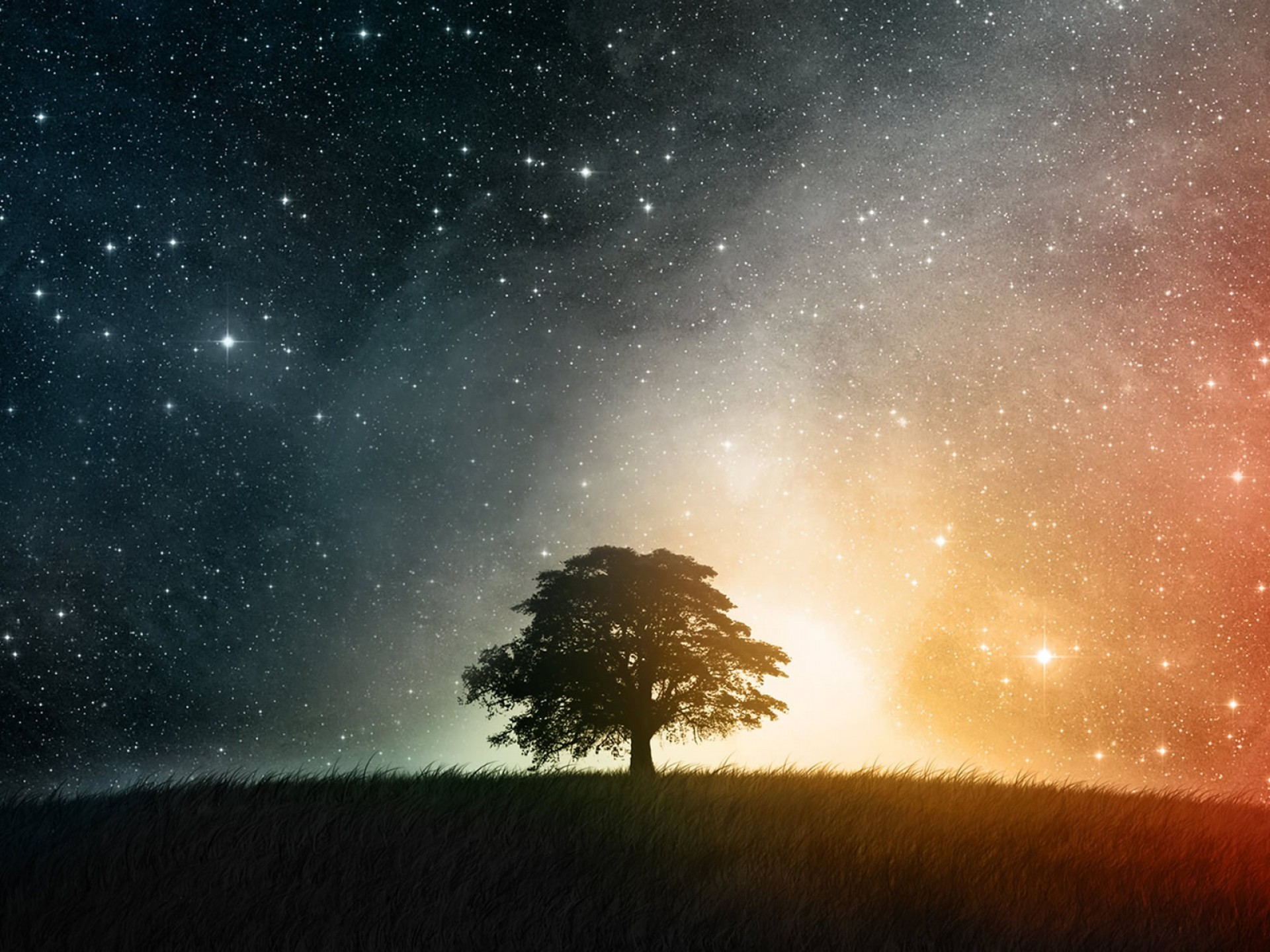 Starry Sky Desktop Images