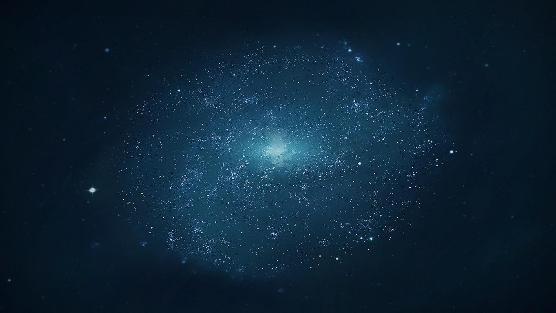 Preview wallpaper universe, galaxy, stars, light 1920×1080