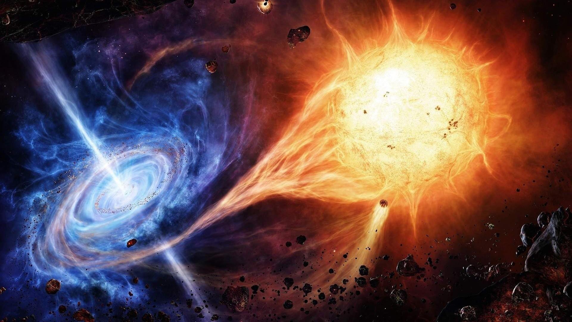 HD Universe Sun Space Wallpaper HD 1080p Full Size .