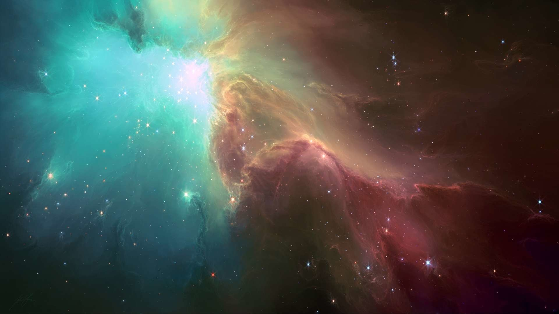Hd Trippy Space Wallpapers 1080P