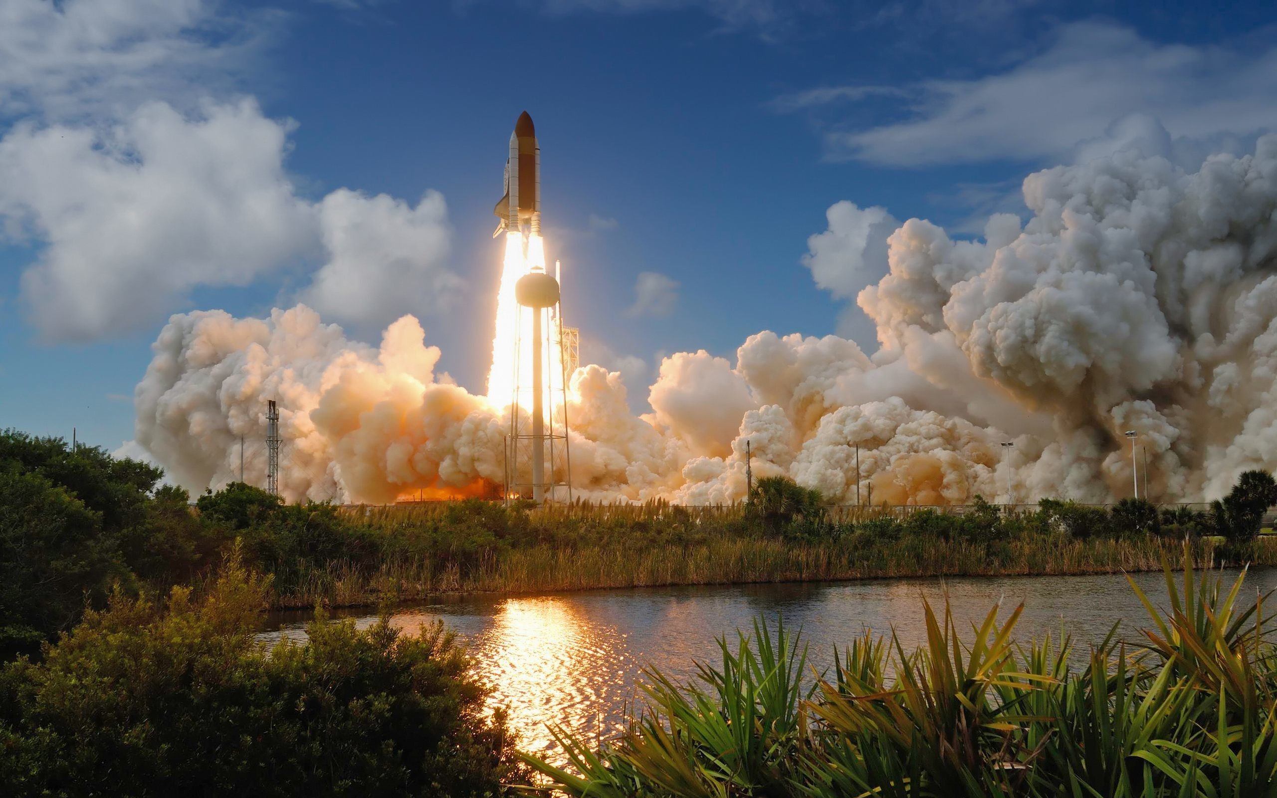 Space Shuttle Launch Nasa Wallpaper
