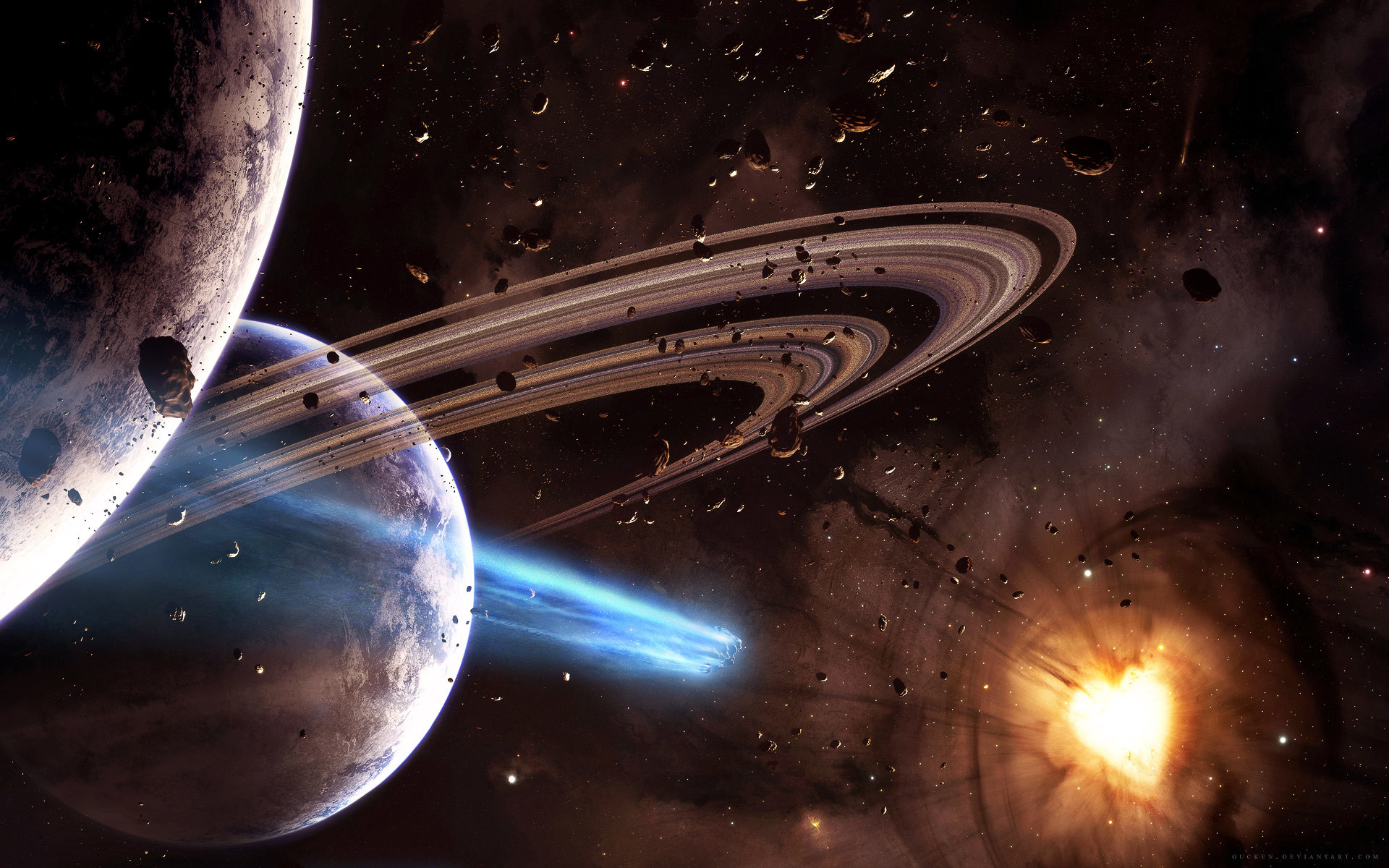 3237 Amazing Space Wallpaper