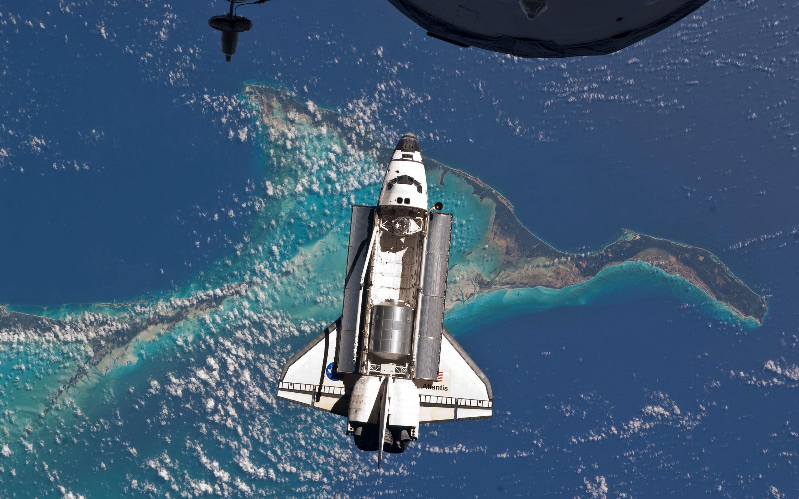 NASA Orbit Space Shuttle Atlantis …