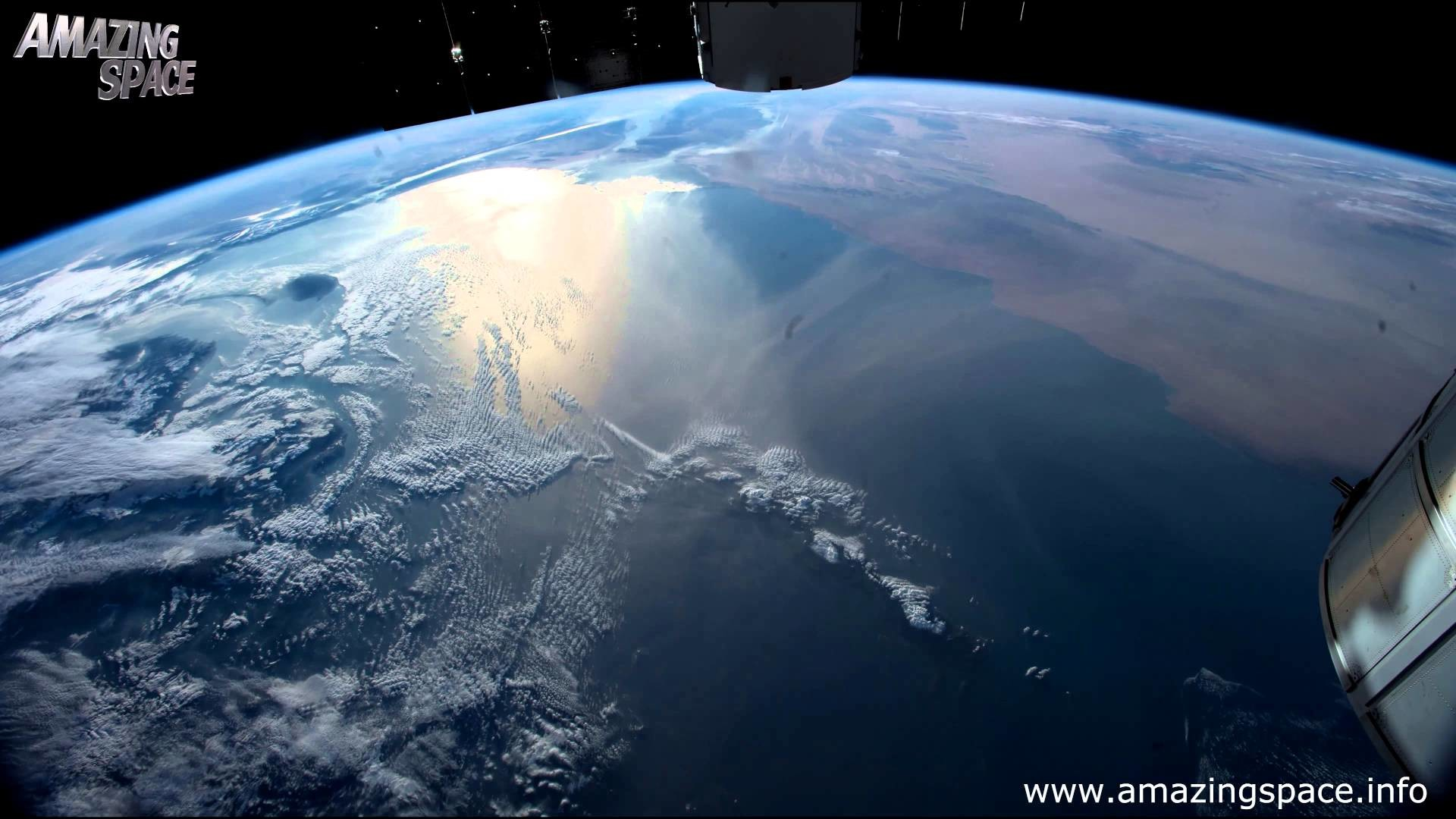 View From Space Time Lapse 4K Ultra HD Video – Earth From ISS : NASA –  YouTube