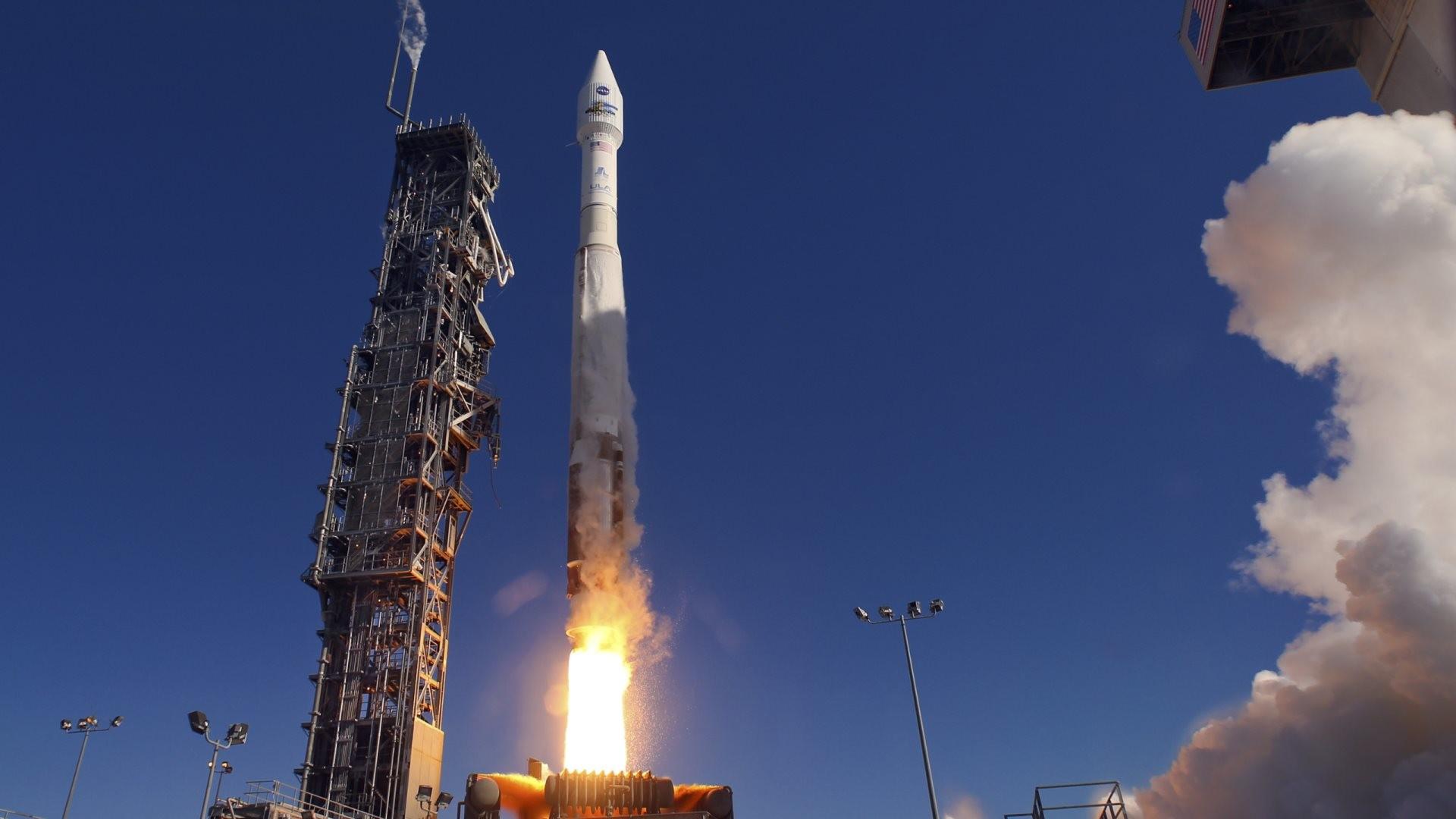 Wallpaper: NASA Launch Landsat. High Definition HD 1920×1080