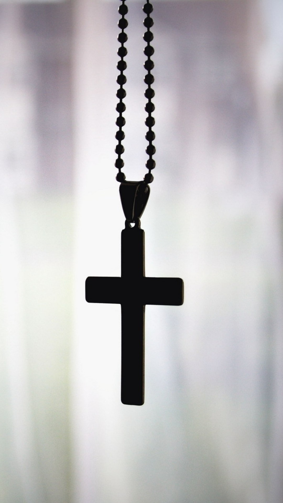 Preview wallpaper cross, pendant, chain, faith, christianity, orthodoxy  1080×1920