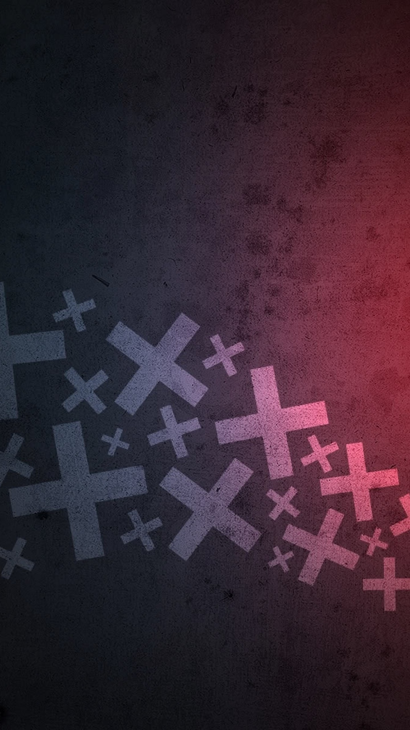 Wallpaper cross, surface, shadow, light