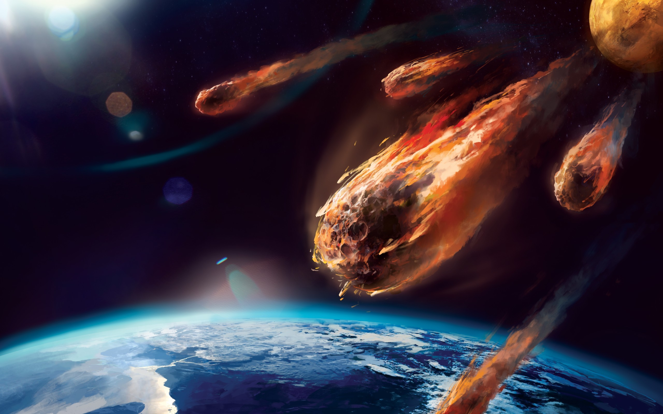 Asteroid To Hit Earth Wallpaper