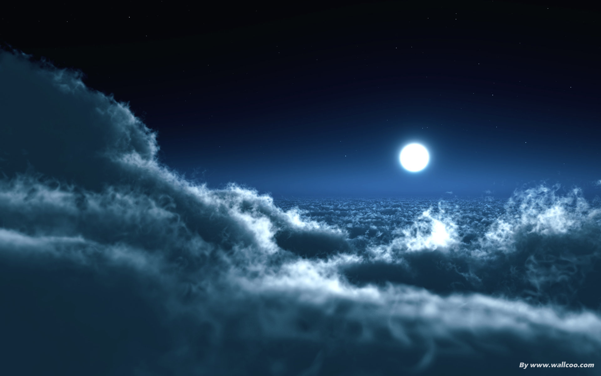 Animated Clouds Moon Night Nature High quality wallpapers in hd(high  definition),widescreen resolutions for desktop,mobiles and tabs absolutely  free.