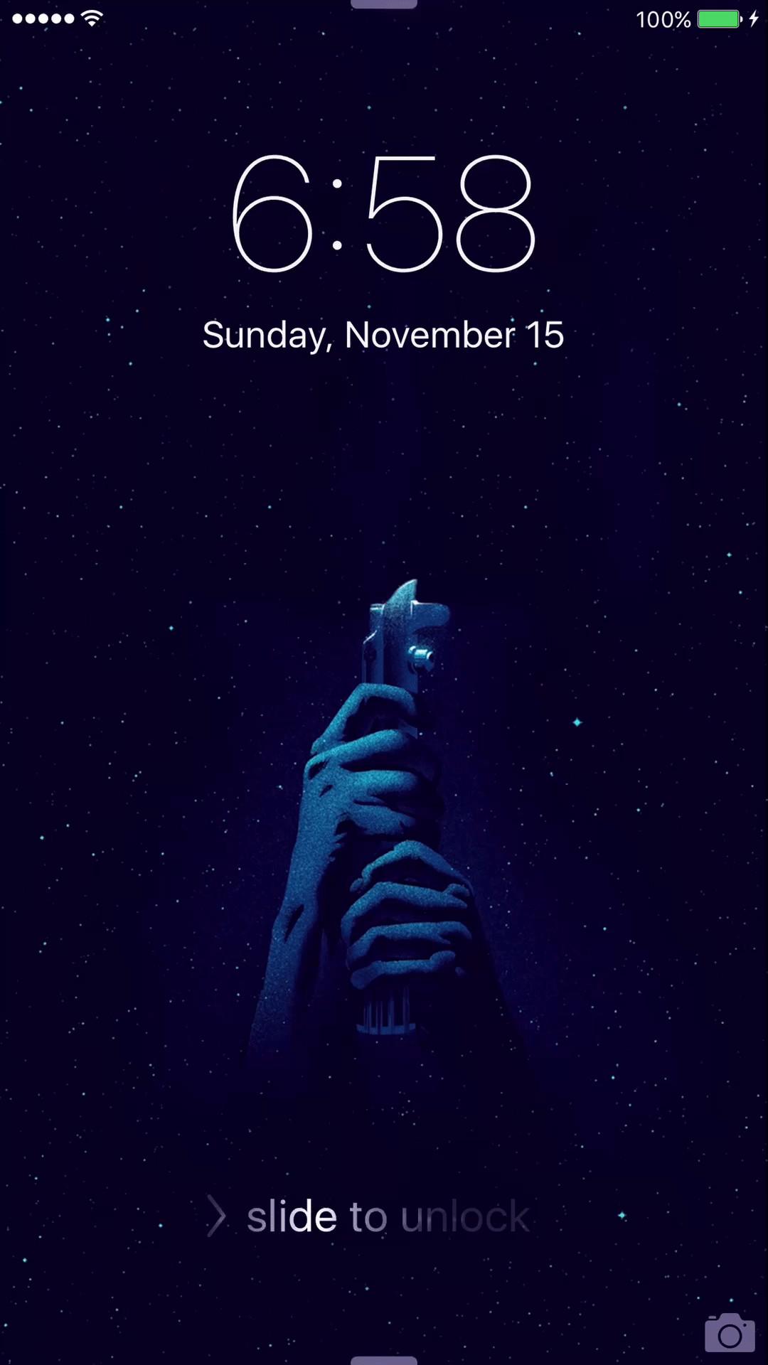 star wars live iphone wallpaper custom
