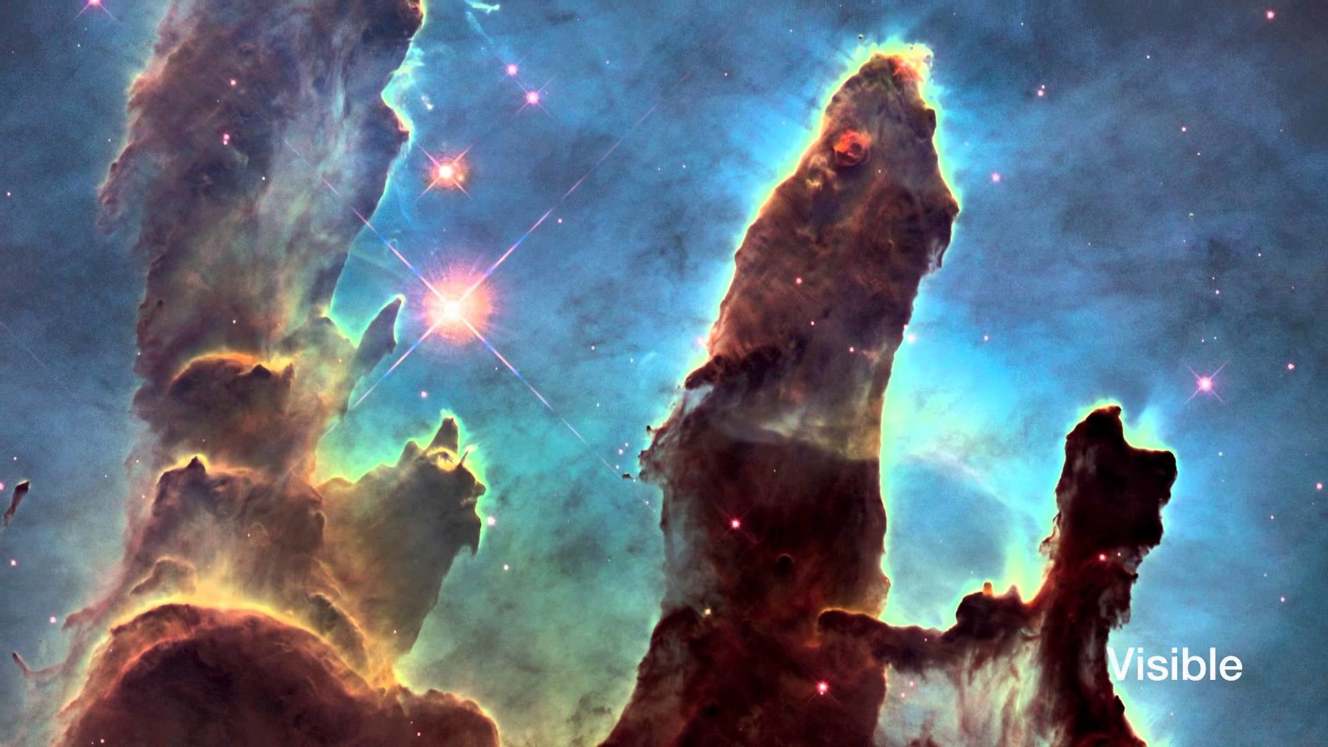 Hubblecast 82: New view of the Pillars of Creation