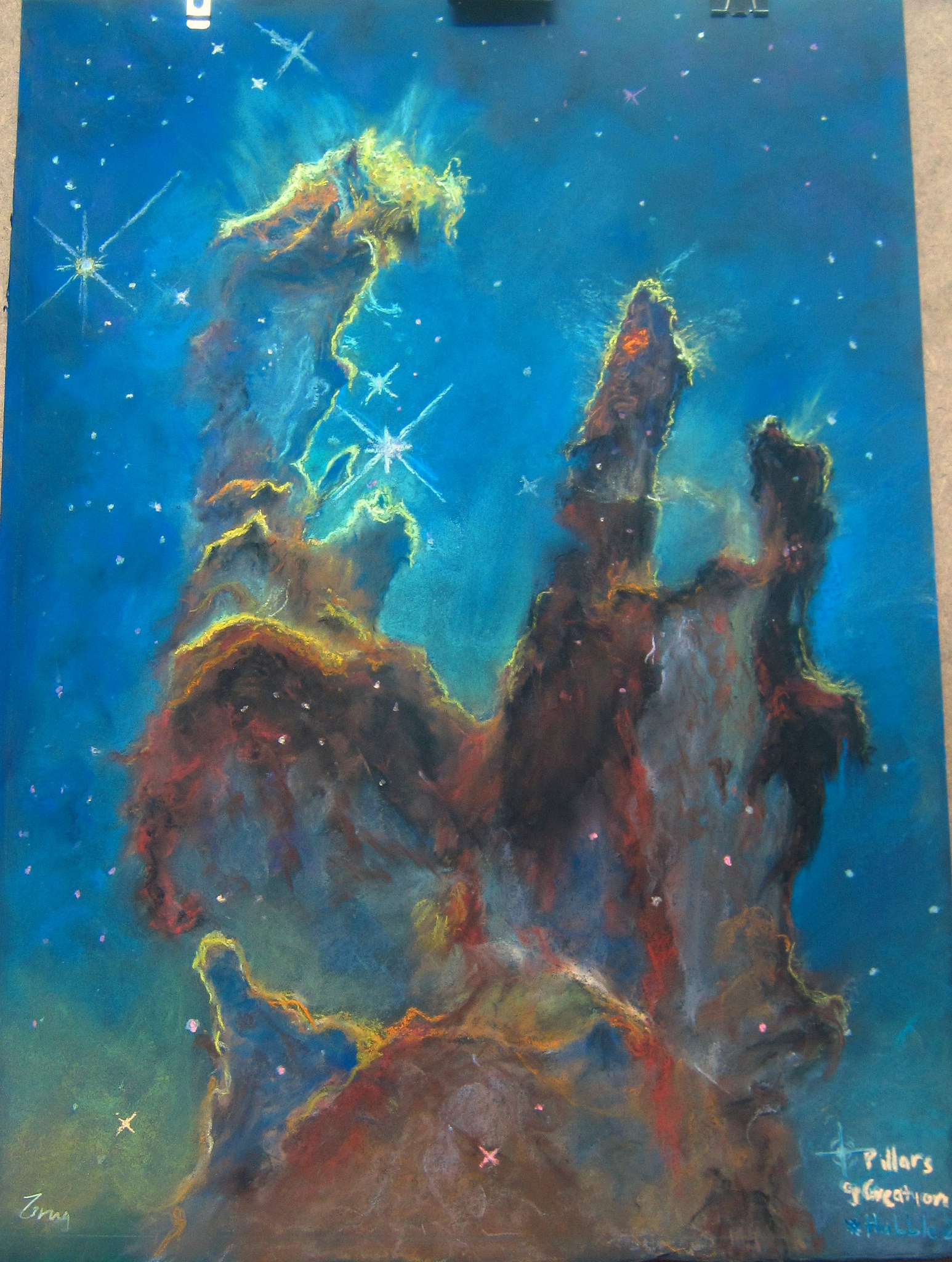 Pillars of Creation recreated