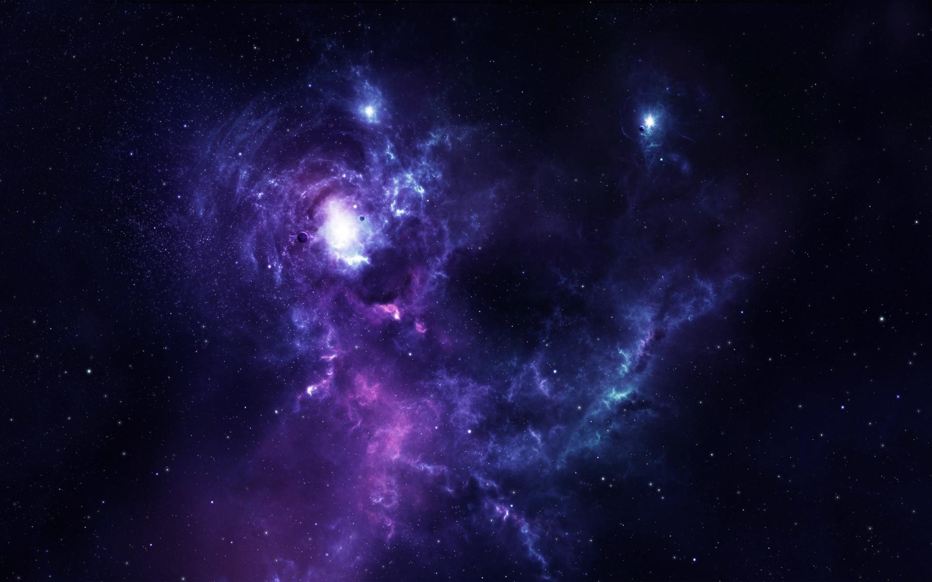 Space Nebula HD Wallpaper via Classy Bro