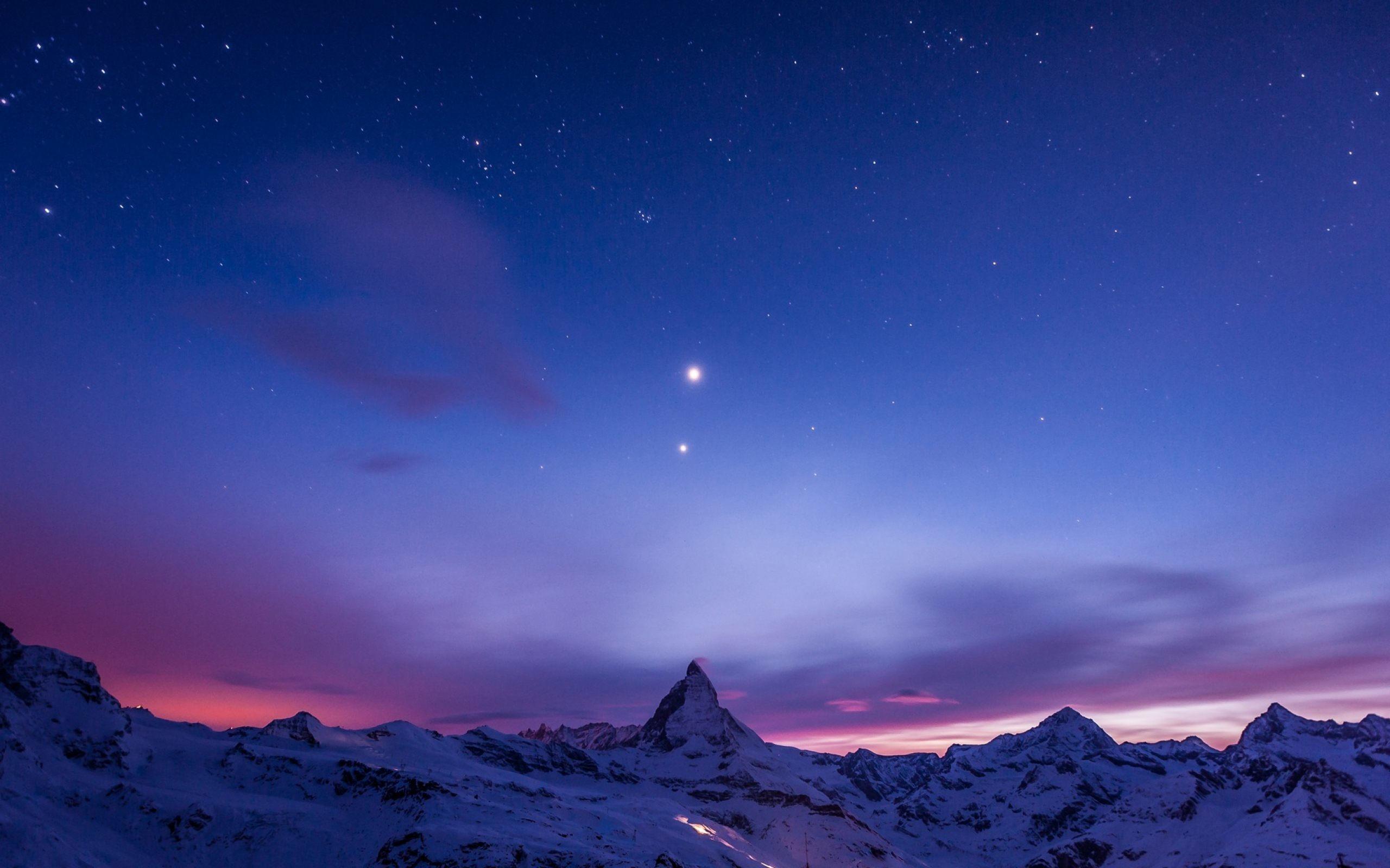 Sky Full Of Stars Night Wallpaper For Desktop, PC & Mobile
