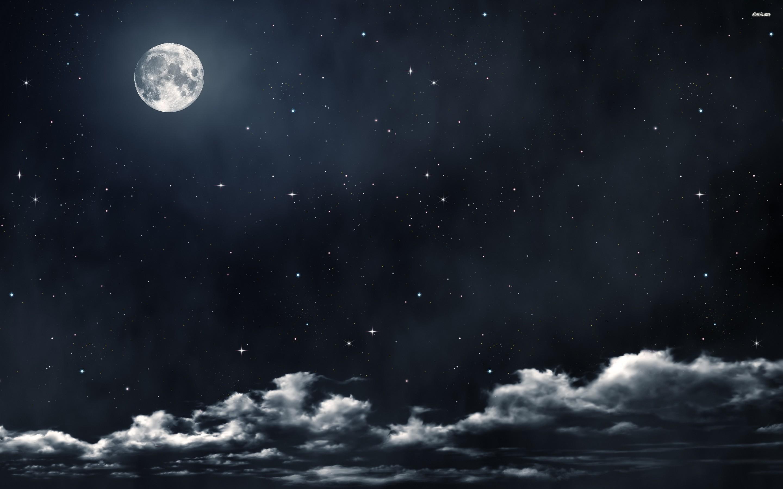 Moon And Stars Desktop Wallpaper Desktop hd Moon And Stars
