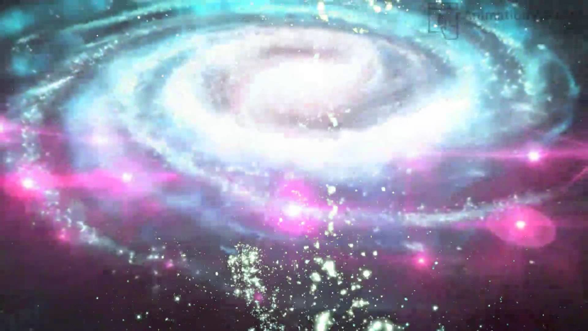 Stars Moving in Space Galaxy Wallpaper Video