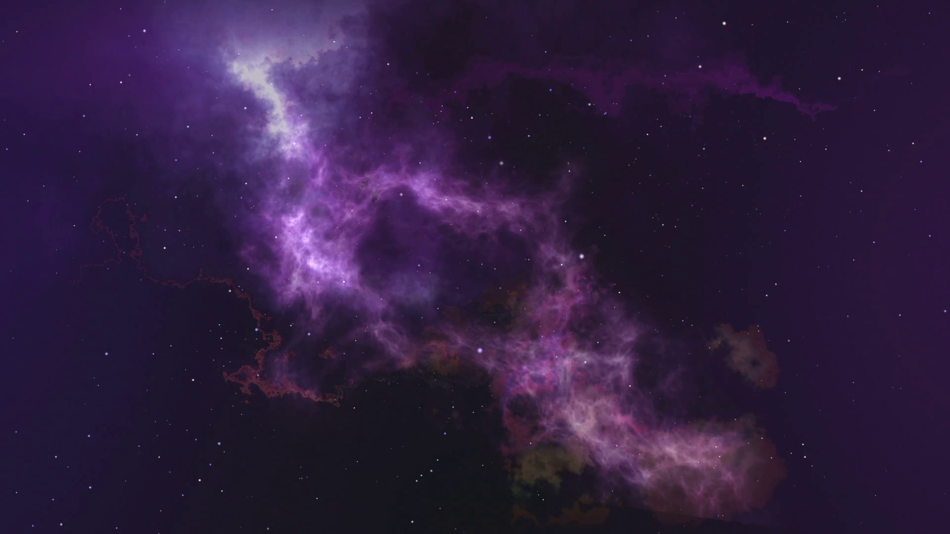 Subscription Library Space abstract background with slow motion through the  environment. Galaxy and stars moving in space