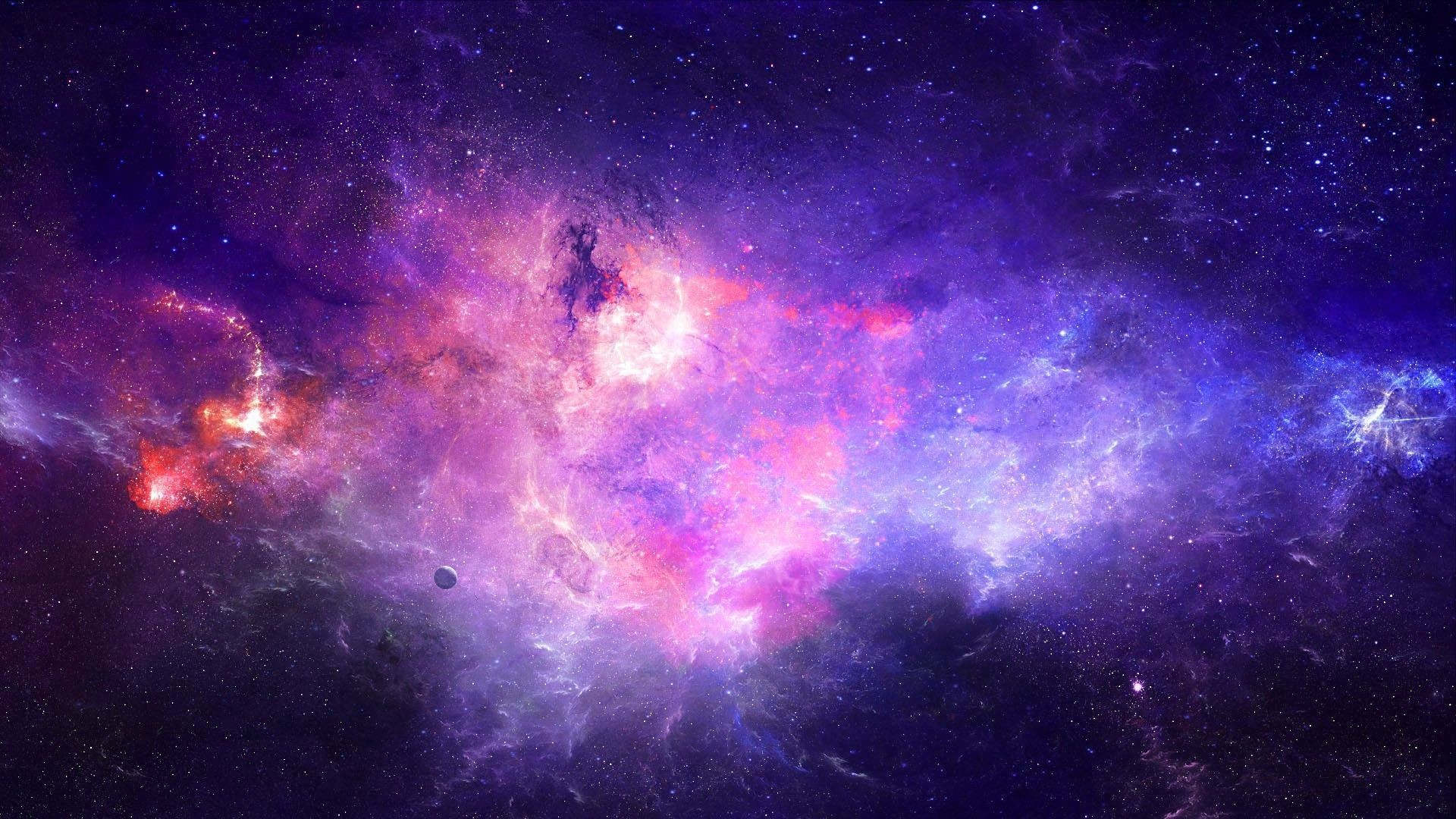 Be Interested Take A Look At This Space Galaxy Animated Wallpaper