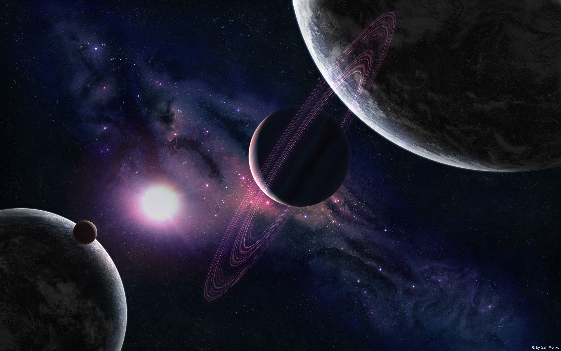 Space planet wallpaper Wallpapers – HD Wallpapers 86471