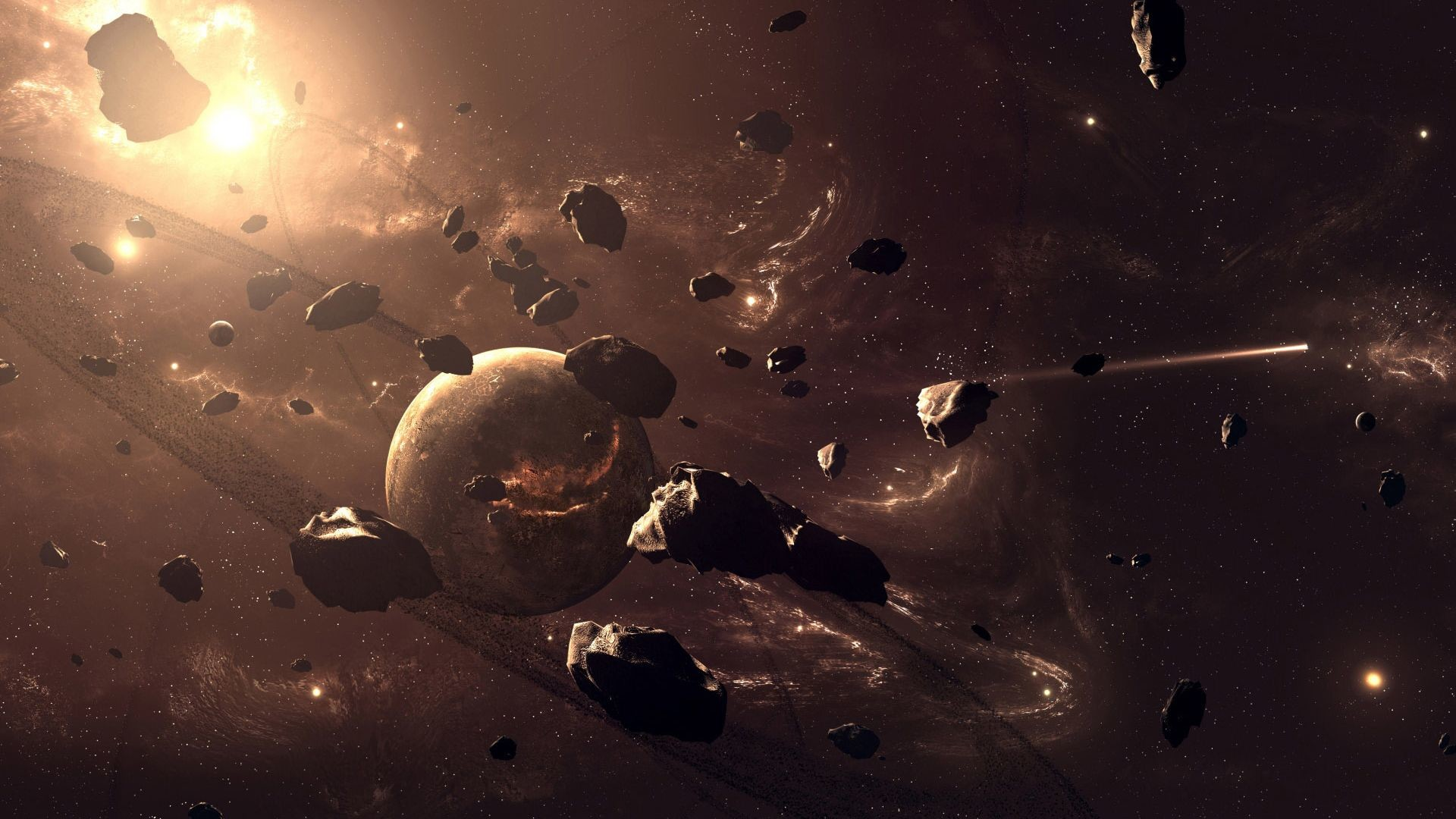 Outer Space Planets HD Wallpaper. « »
