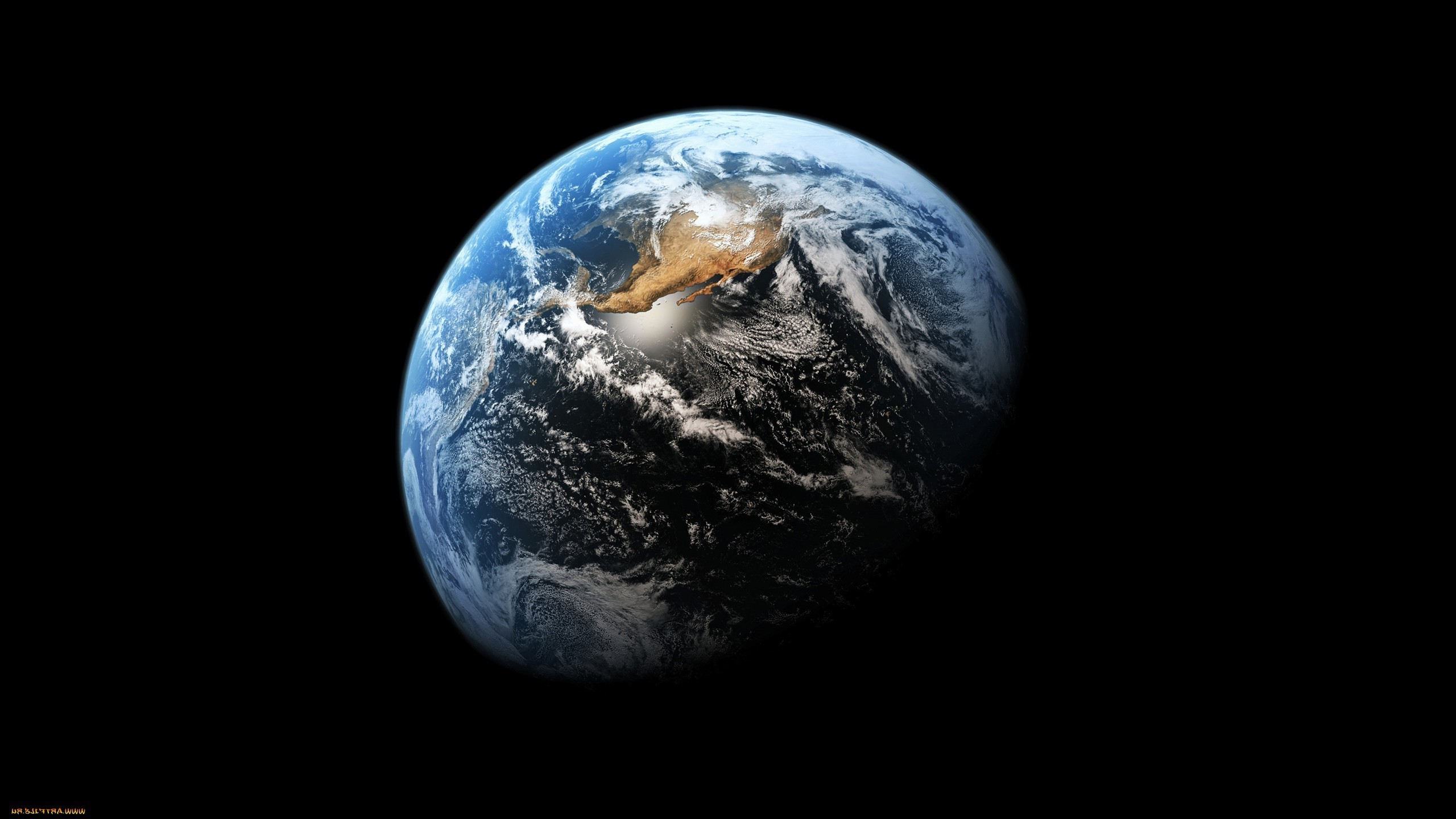 Earth, Black, Space, Planet Wallpapers HD / Desktop and Mobile Backgrounds