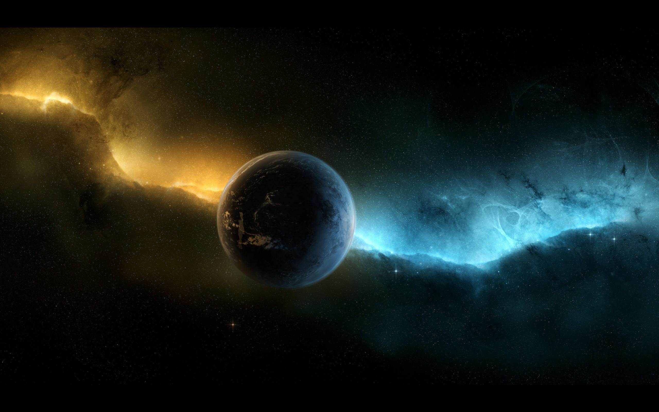 Space Planet Aurora
