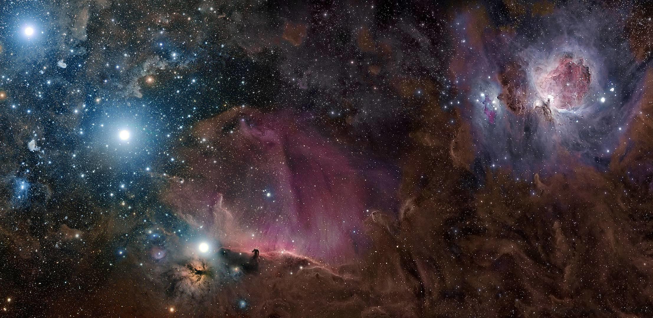 Download wallpaper Orion, constellation, nebula, gas free desktop .