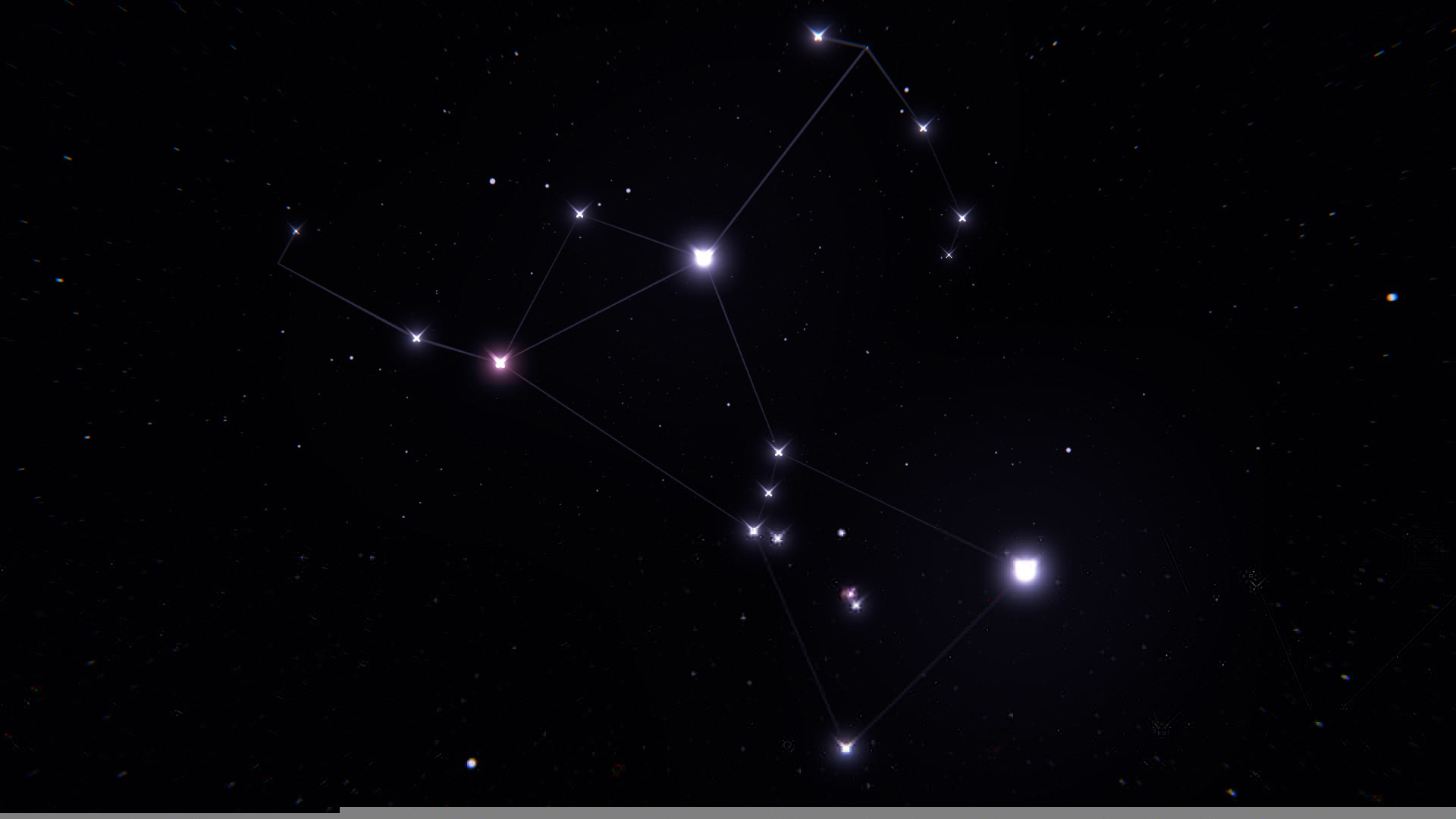 Wallpaper orion, constellation, stars, space wallpapers space .