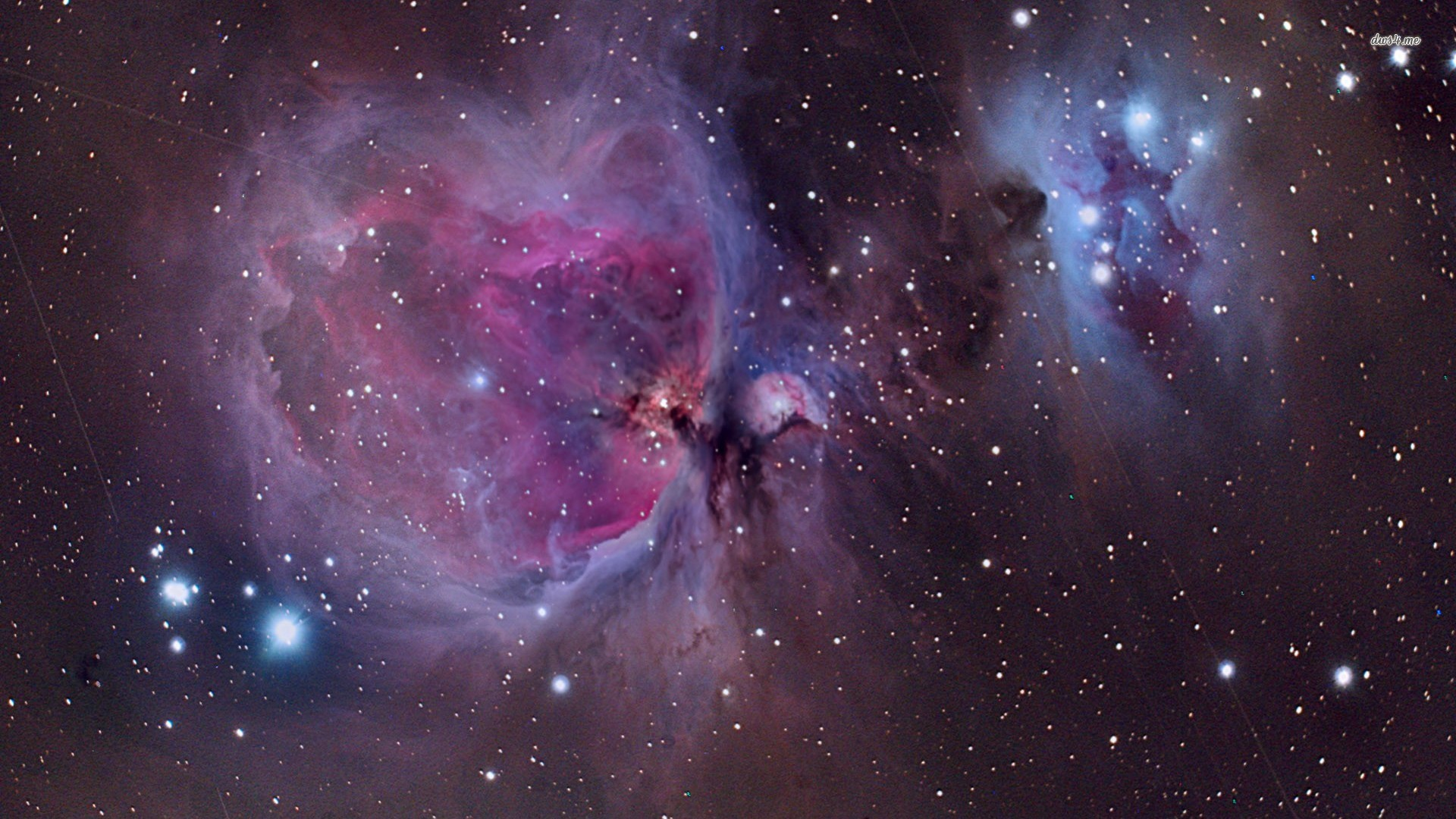 Orion Nebula Space HD desktop wallpaper, Orion's Belt wallpaper – Space no.