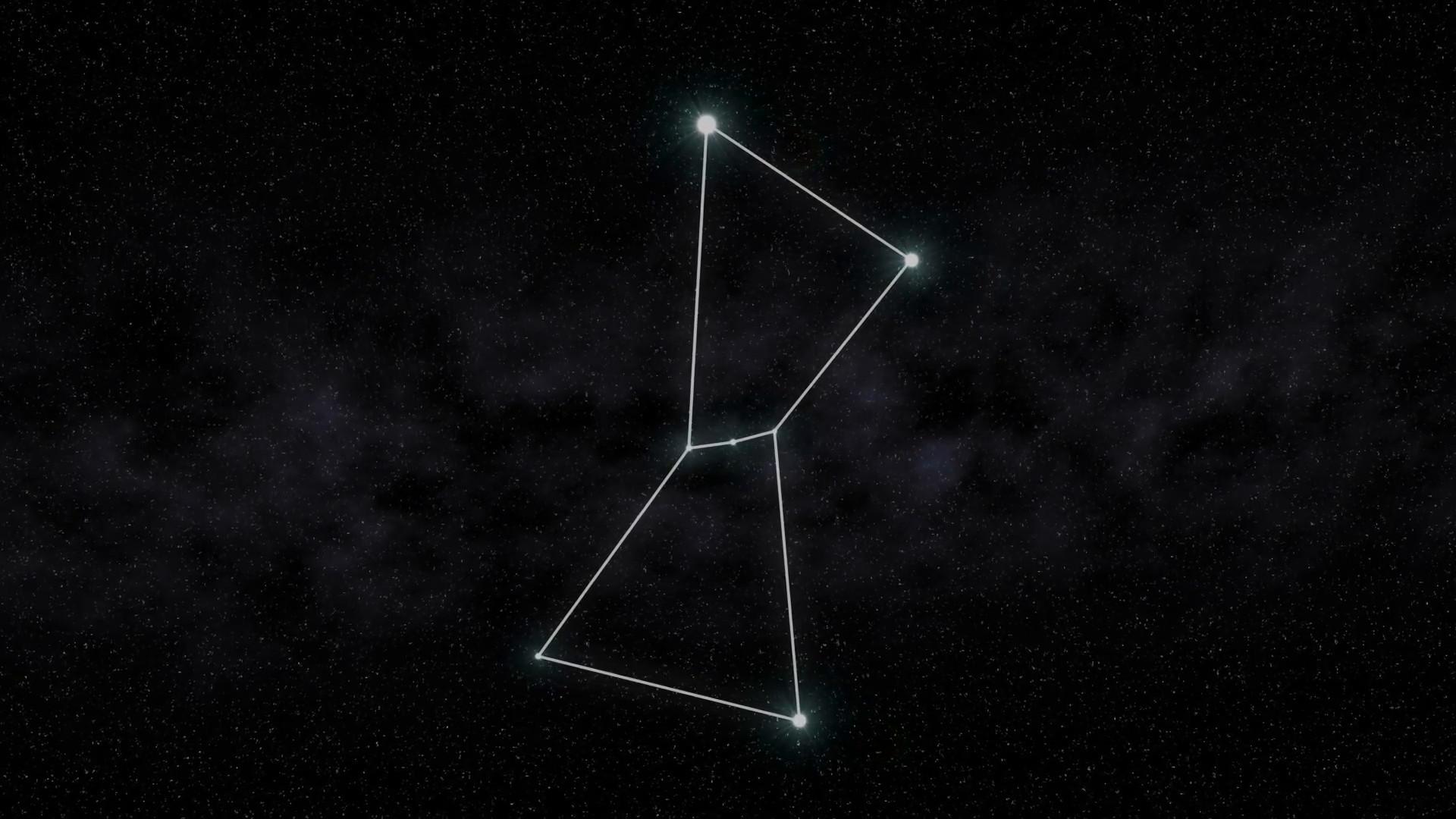 Orion Constellation Animation Background Illustration Motion Background –  VideoBlocks