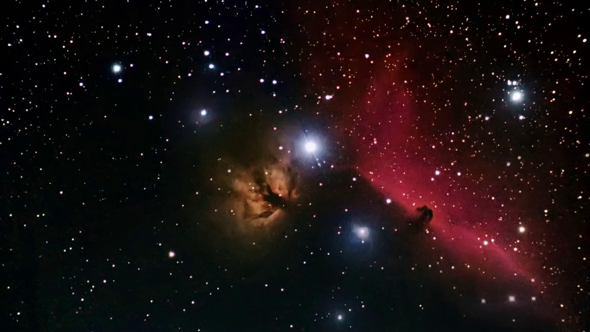Horsehead Nebula in the constellation Orion. Stock Video Footage –  VideoBlocks
