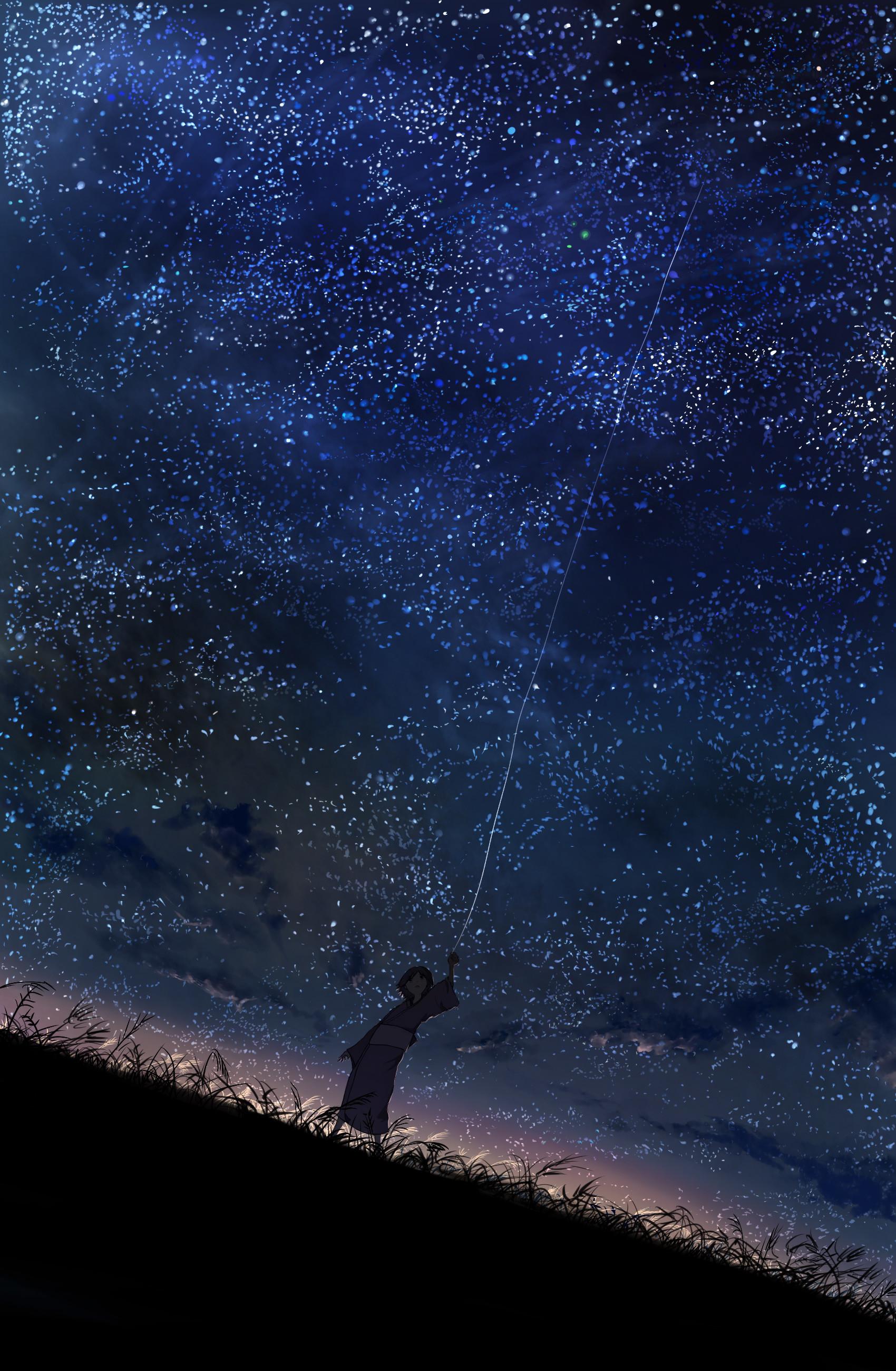 Stars Mushishi Night Sky Fresh New Hd Wallpaper [Your Popular HD Wallpaper]  #ID53049