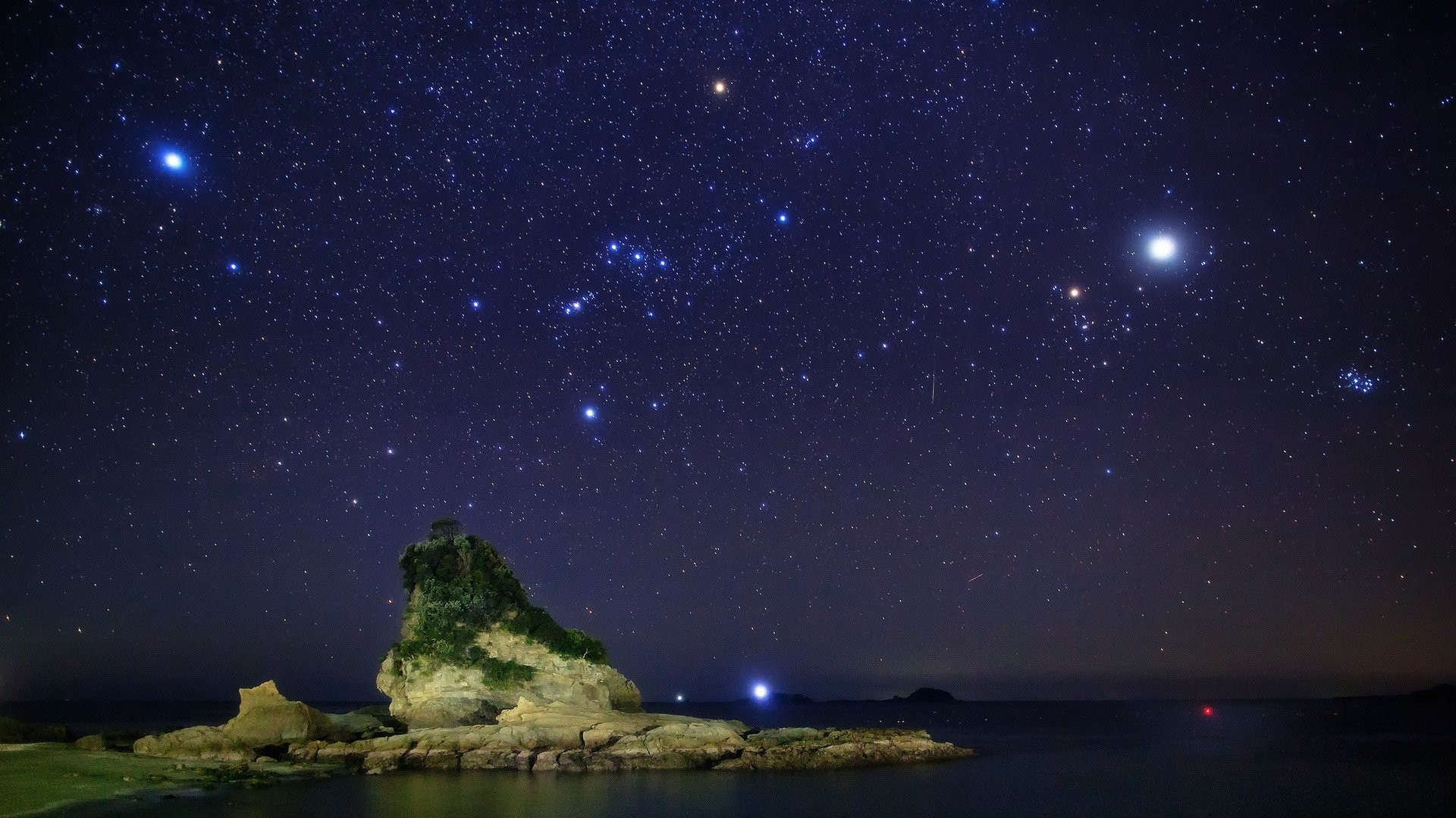 stars night sky wallpaper background