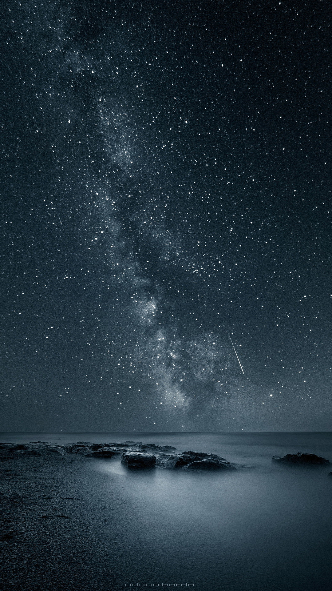The stars in the galaxy. Tap to see more beautiful Nature Apple iPhone Plus  HD wallpapers, backgrounds, fondos.