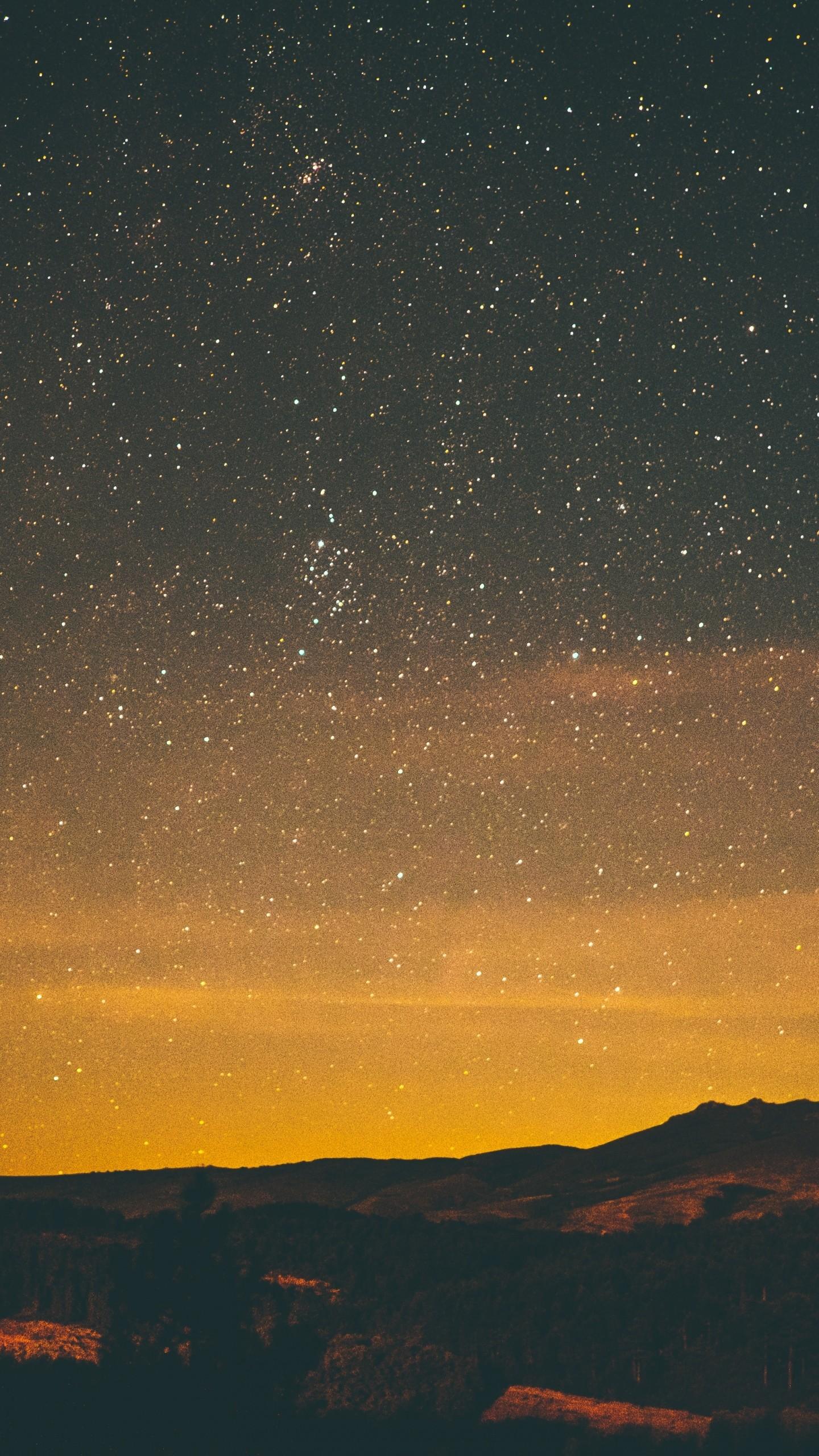 Wallpaper stars, night, sky