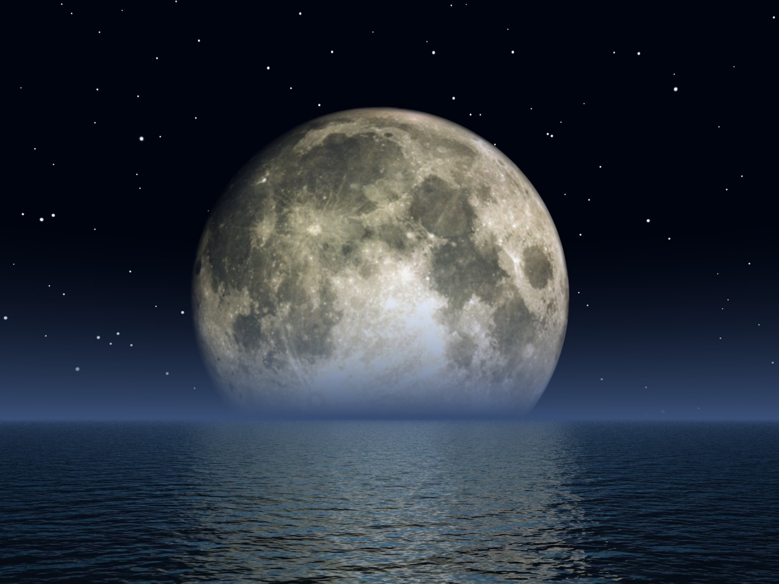 Planet Ocean Stars Night wallpapers and stock photos