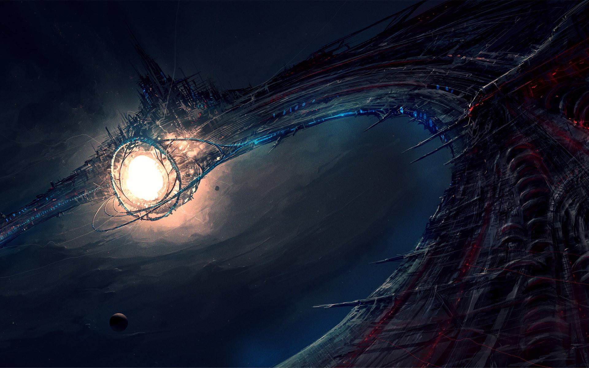 Alien Planet Wallpapers HD 1920×1200