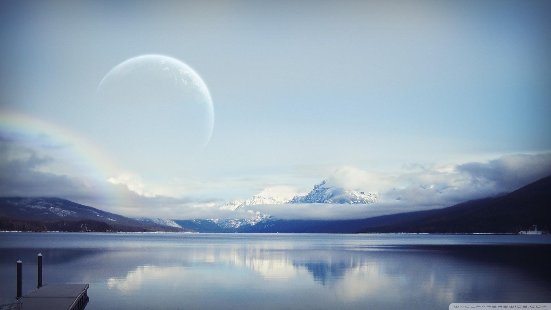 Planet, Landscape HD deskt.