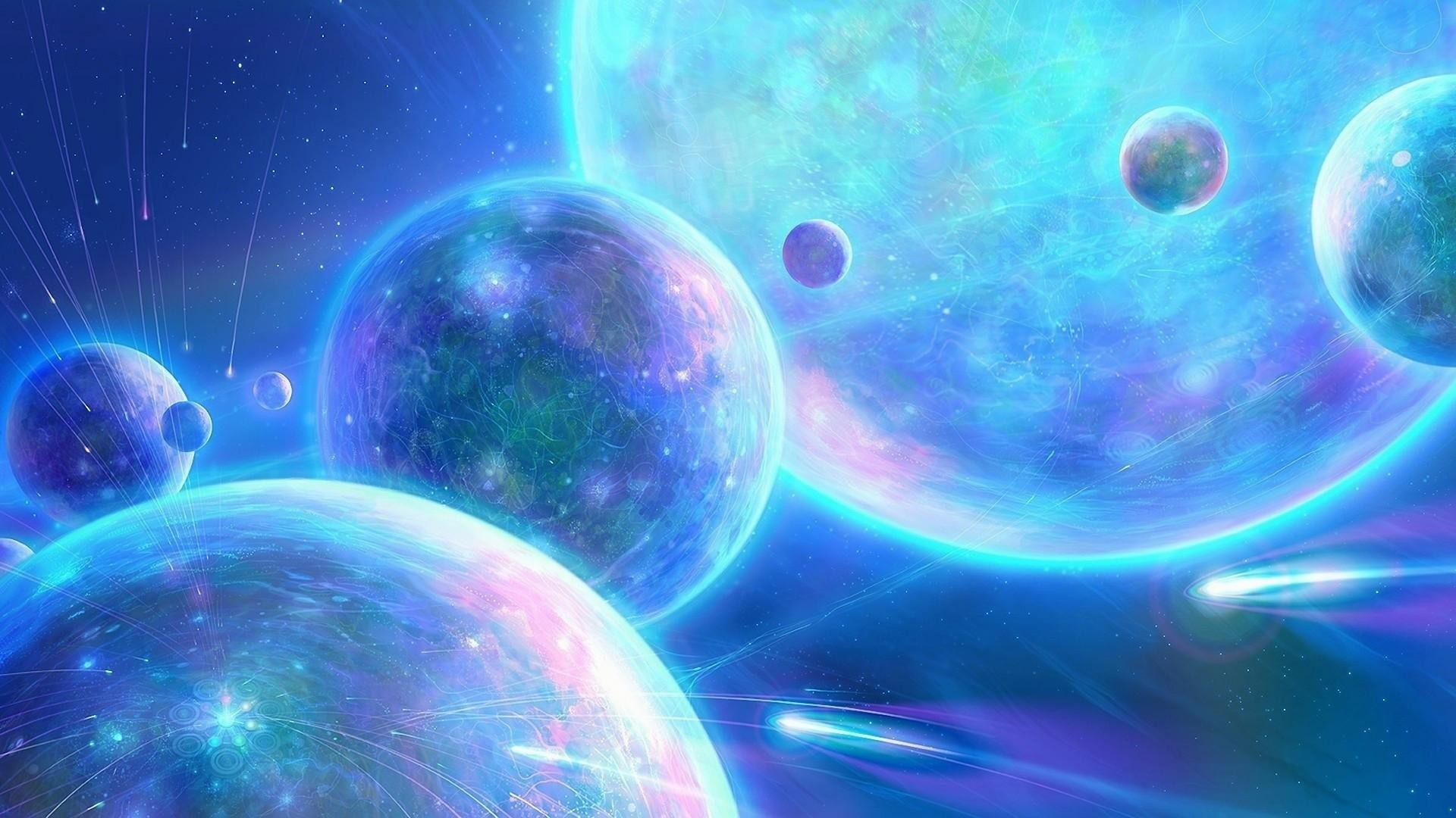 wallpaper.wiki-Outer-Space-Planets-Blue-1080p-Wallpaper-